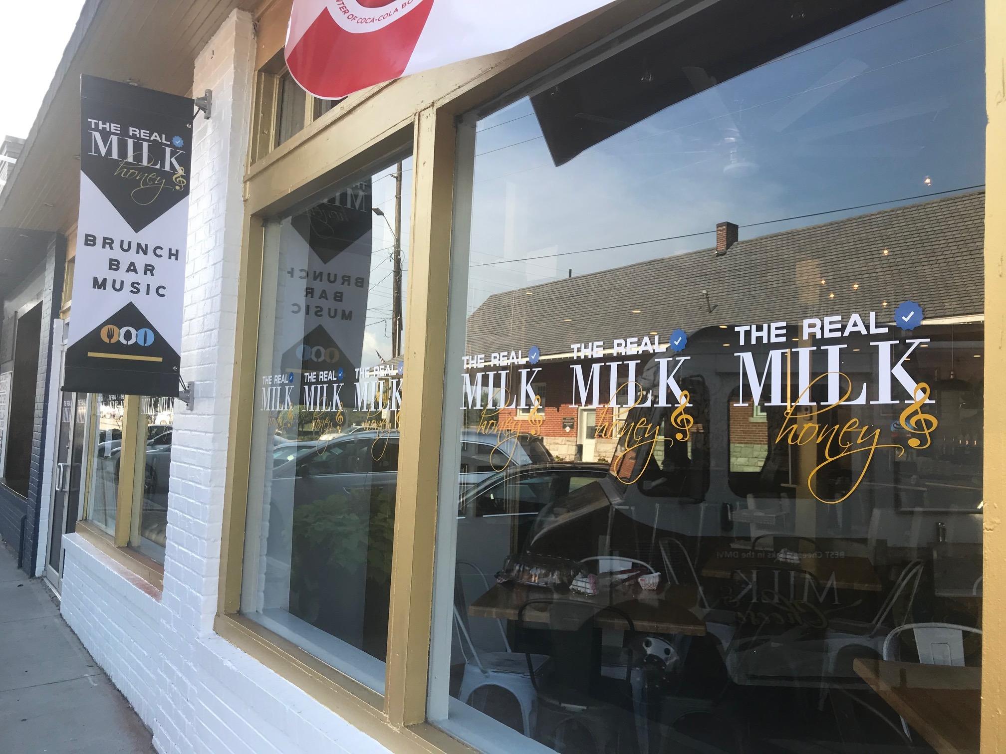 Chef Sammy Davis Jr. opens The Real Milk & Honey Cafe in College Park