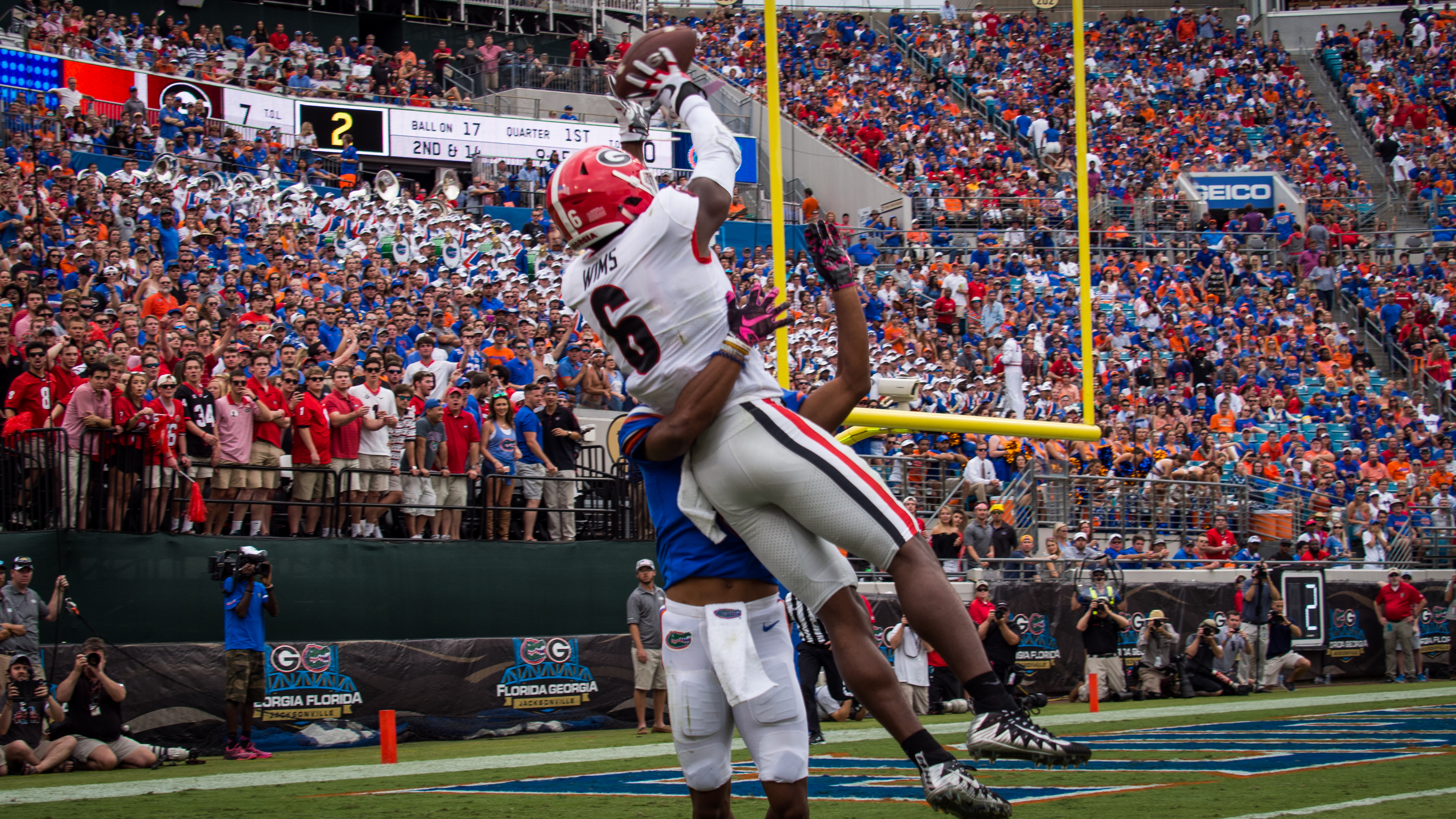 Georgia WR Javon Wims soaring to new heights as Jake Fromm's ...
