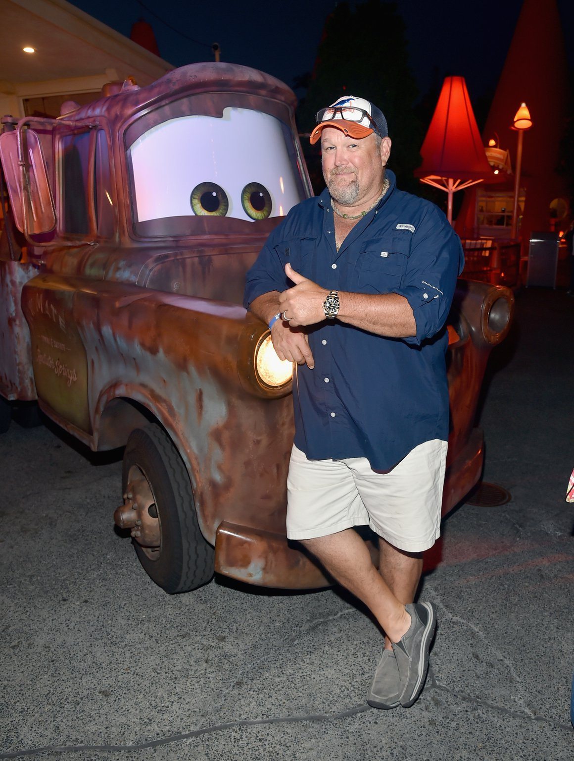Photo of Larry the Cable Guy  - car