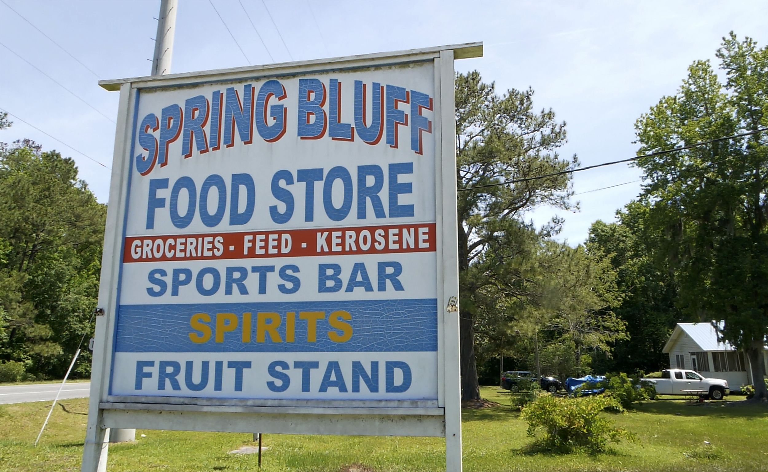 The store where a church witness ran for help still stands.