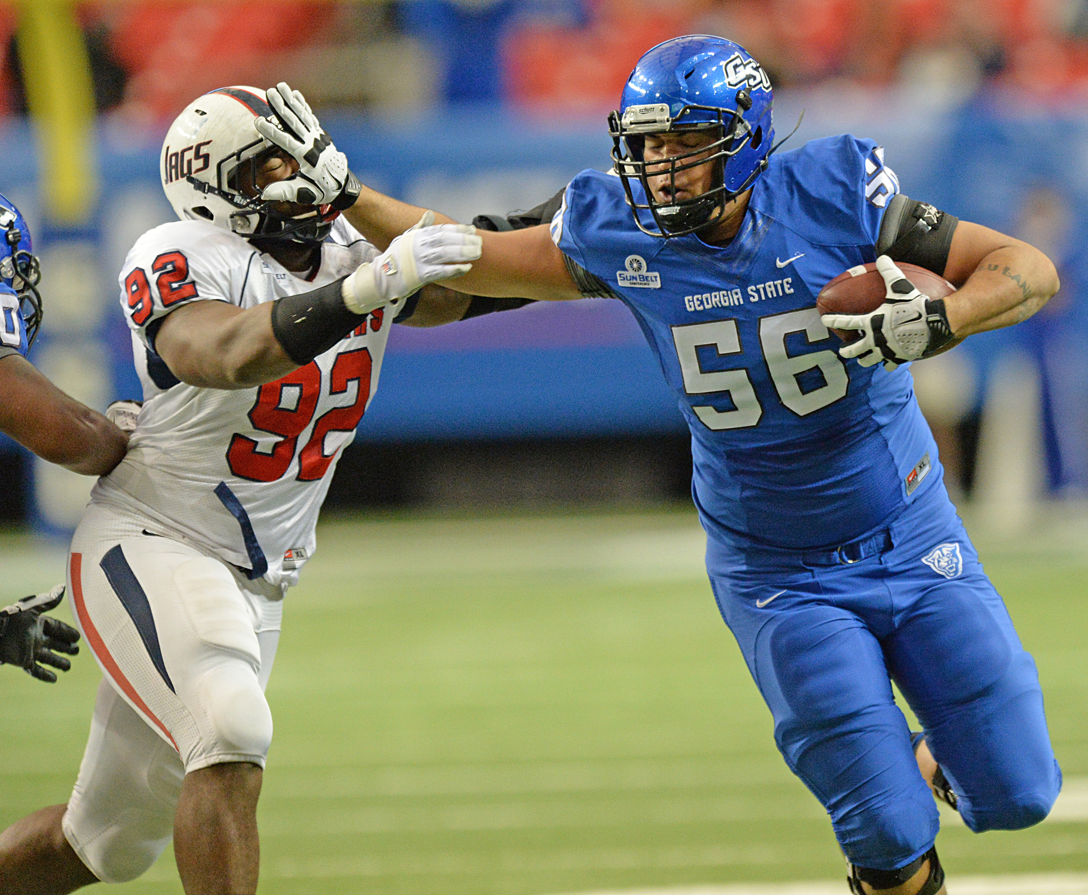 Colts take GSU's Ulrick John; Wilson signs with Chiefs