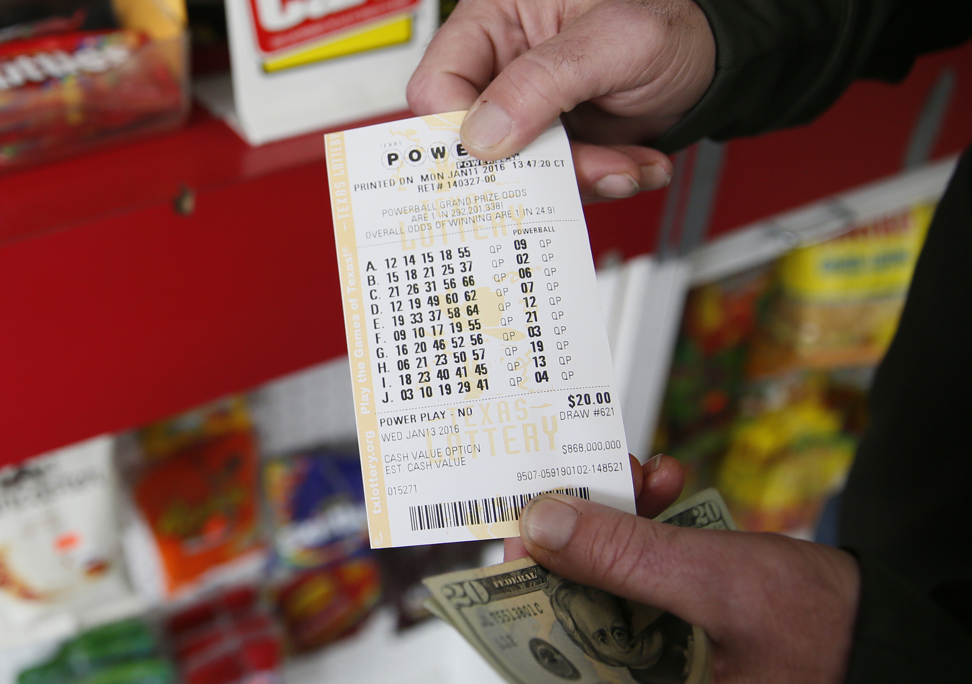 Texas Lottery Reports Technical Issues As Powerball Drawing