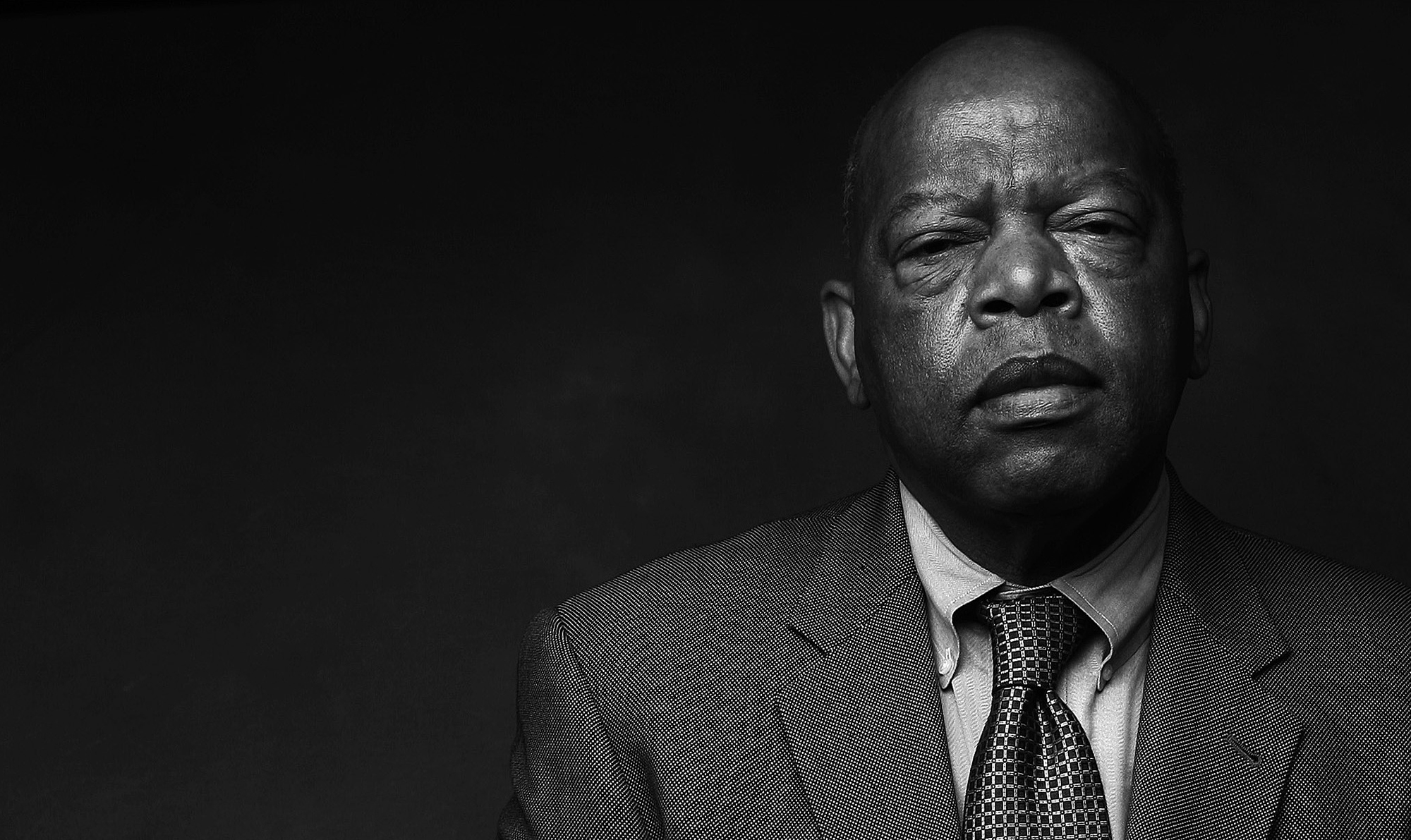 Rep. John Lewis sat for this portrait by the AJC in 2008. (Pouya Dianat / AJC file)