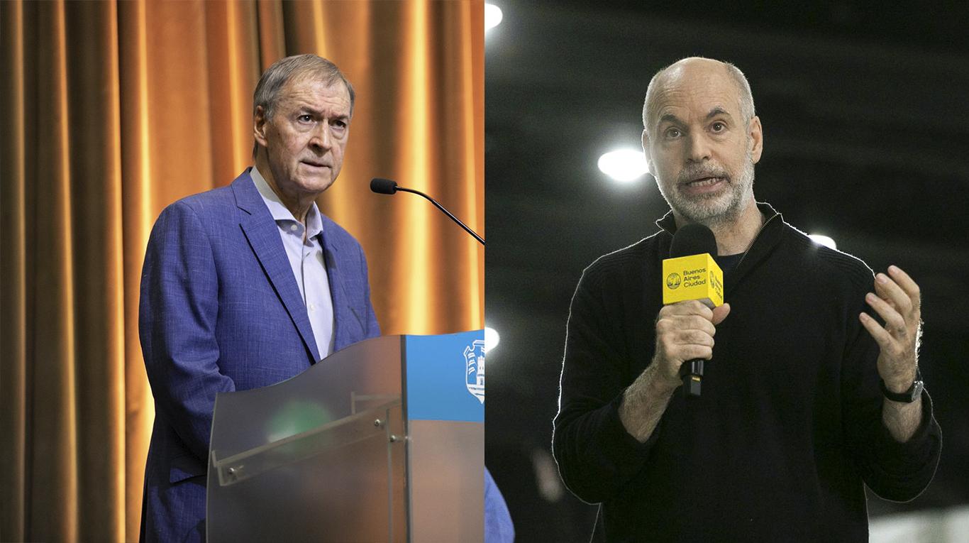 """De """"oficialista"""" a """"porteño mentiroso"""": Horacio Rodríguez Larreta y un diputado que responde a Juan Schiaretti protagonizaron un cruce de acusaciones"""