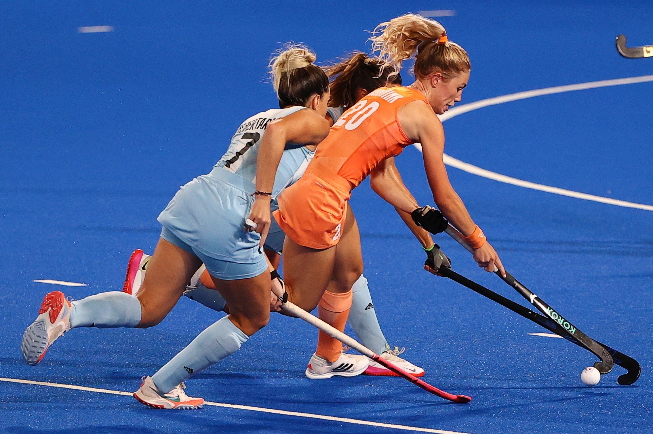 Otro gol de Países Bajos: ahora le gana 2 a 0 a la Argentina