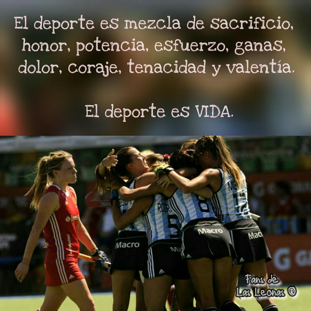 """""""Honor, potencia y valentía"""": el mensaje de Las Leonas a minutos del arranque del partido"""