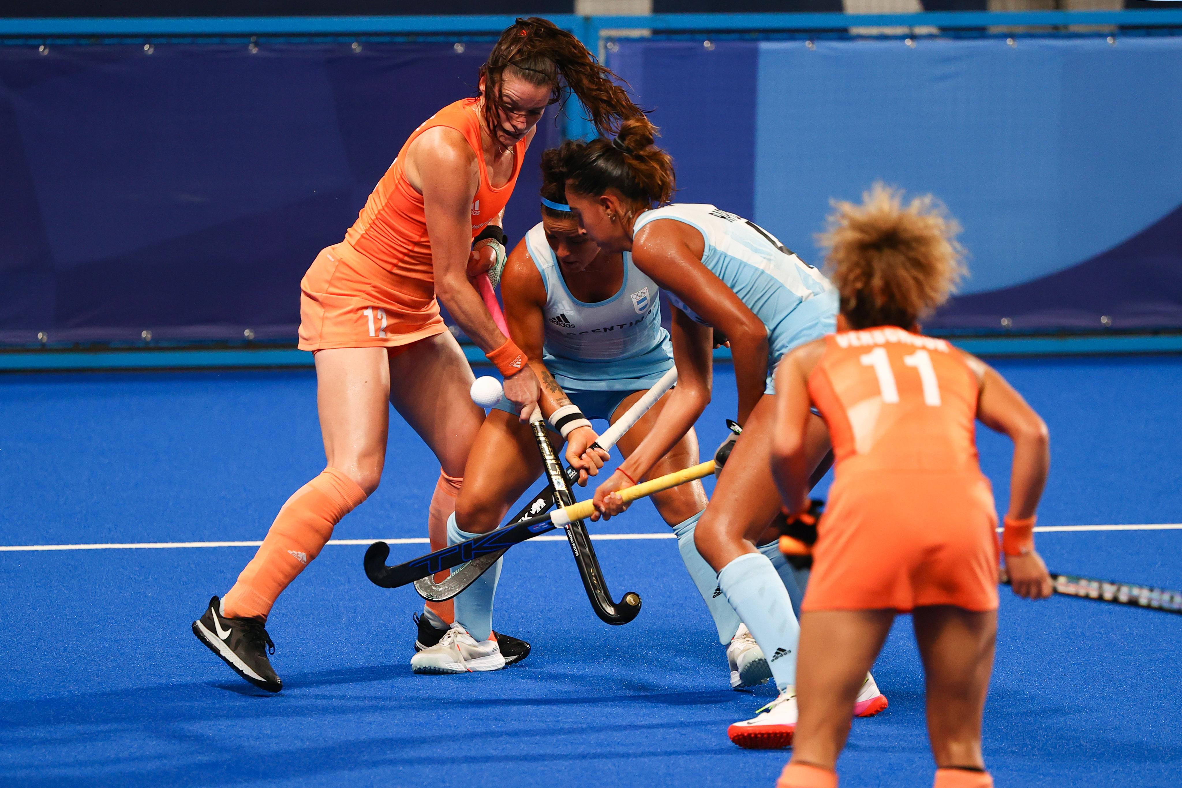 Final del partido: Países Bajos gana 3 a 1 y se queda con el oro