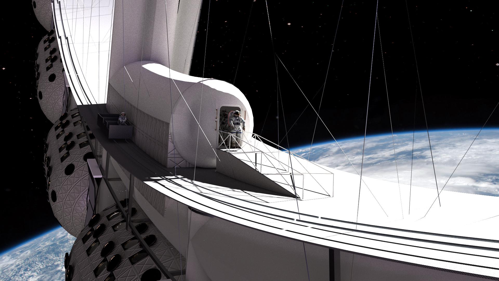 Así será el primer hotel en el espacio, que abrirá sus puertas en 2027 | TN