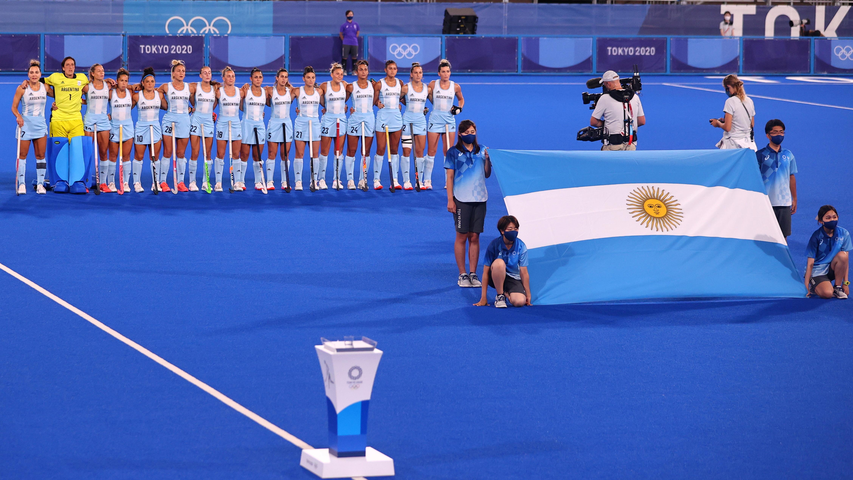GOOOOOL DE ARGENTINA: descuentan las Leonas, que ahora pierden por 3 a 1
