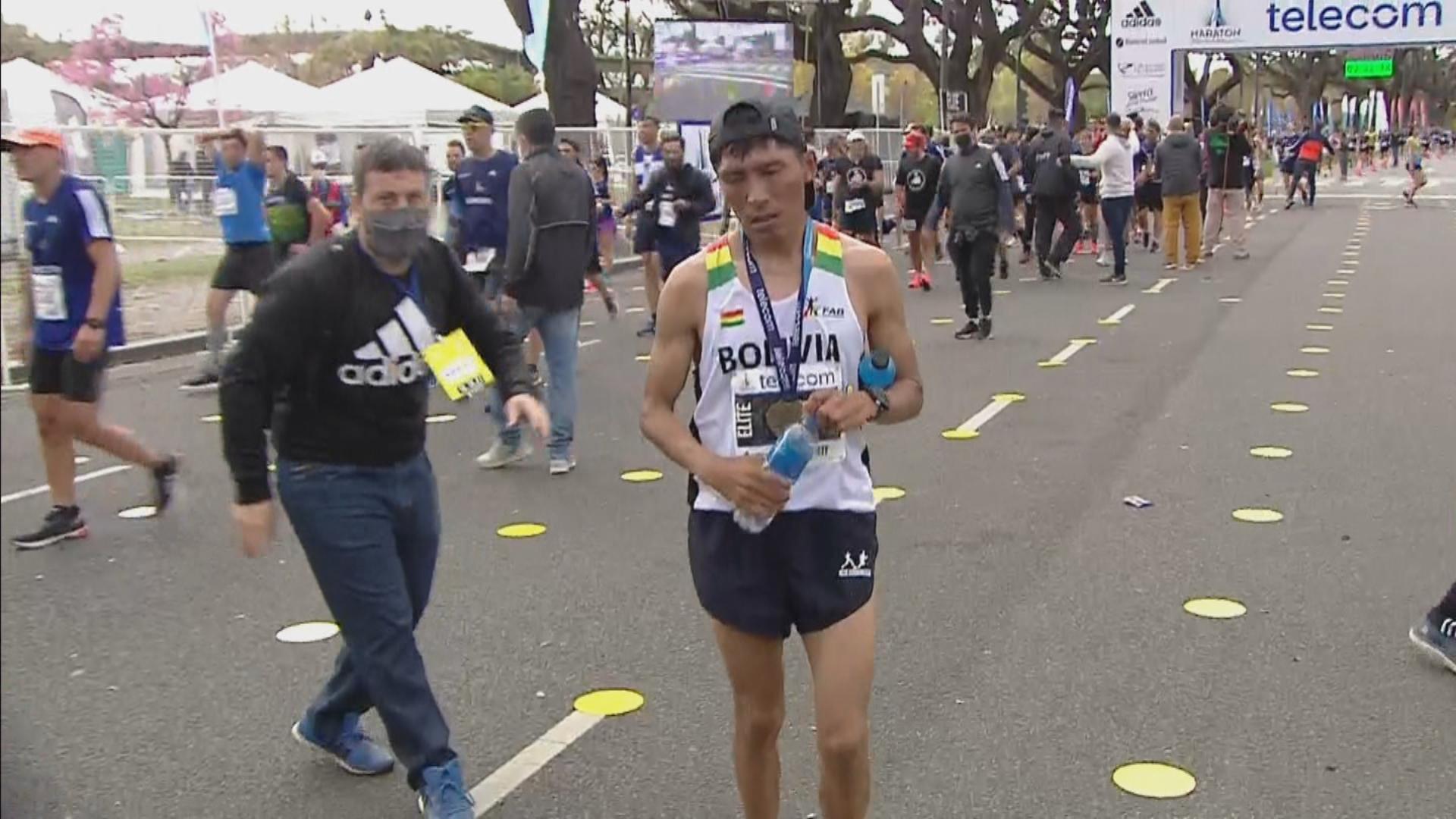 Maratón de Buenos Aires: quién es Héctor Garibay, el runner boliviano que ganó la carrera