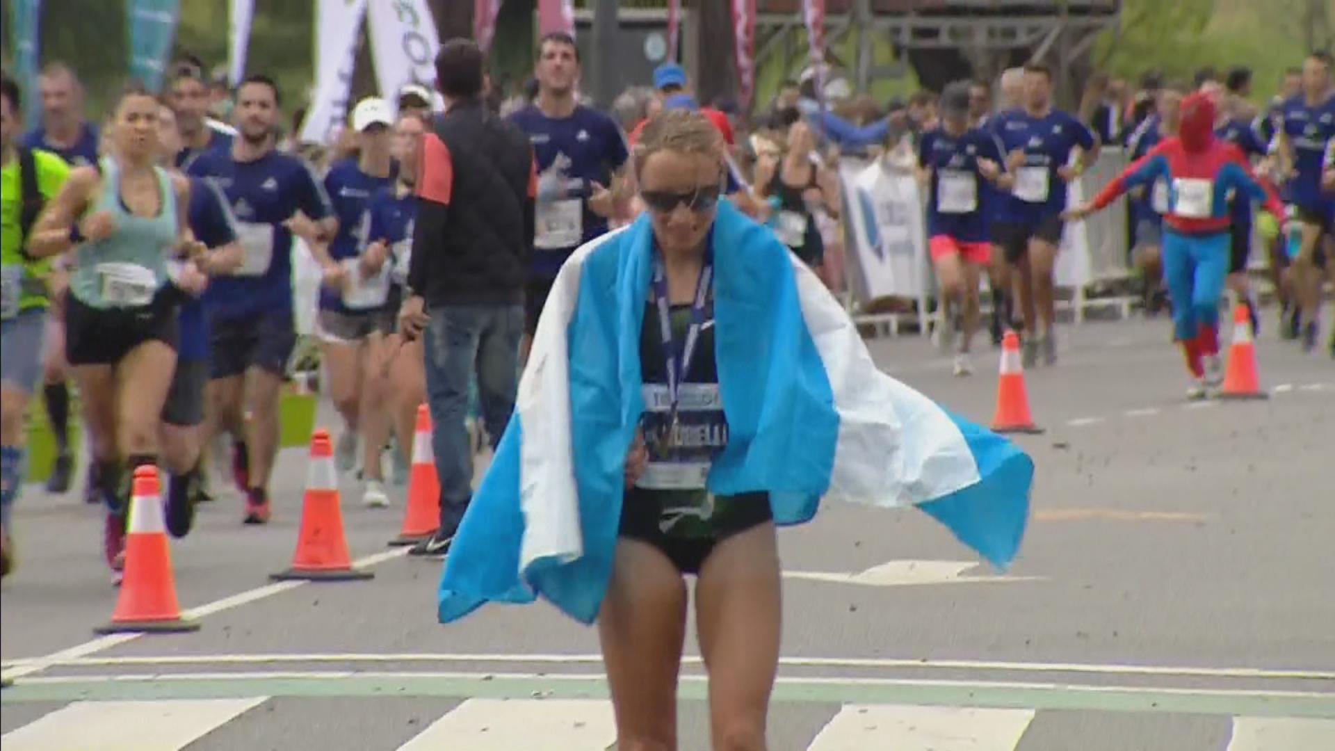 Maratón de Buenos Aires: quién es Florencia Borelli, la marplatense que se animó a competir y ganó la competencia