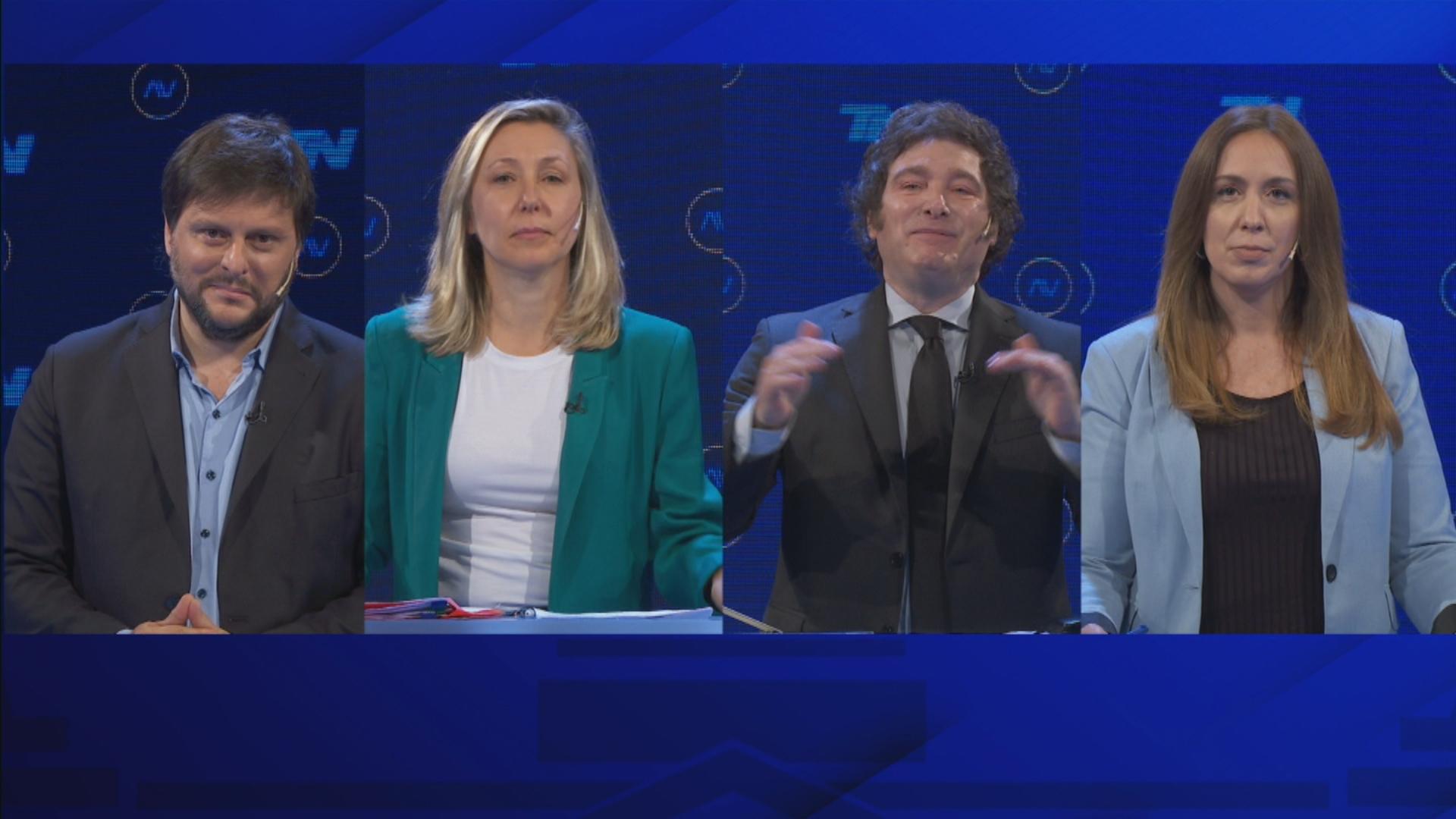 Con picos de rating y mucha tensión, el debate tuvo una clara ganadora