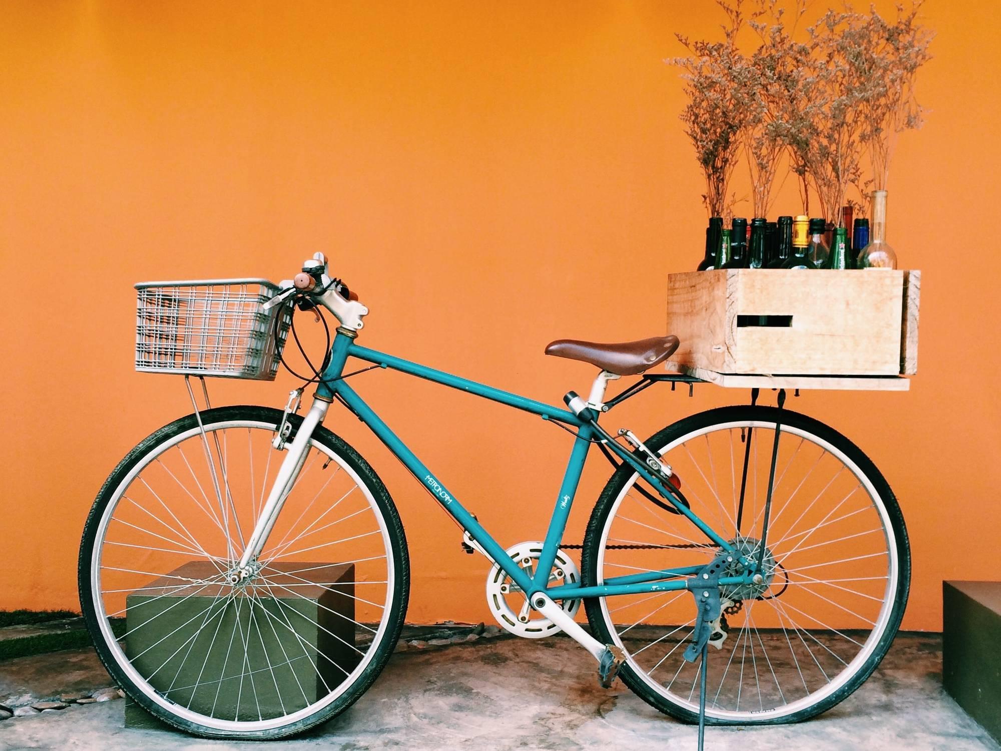 Children Bike Storage Holder Plastic Bicycle Basket Front Handlebar Carrier