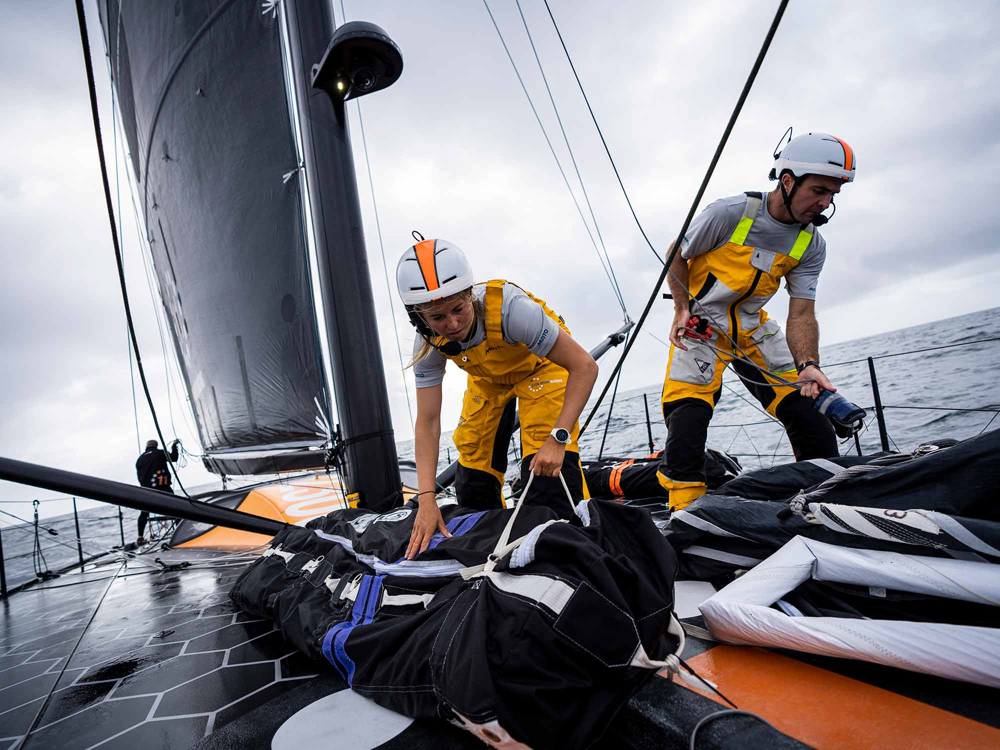 Foiling Into A New Comfort Zone Sailing World