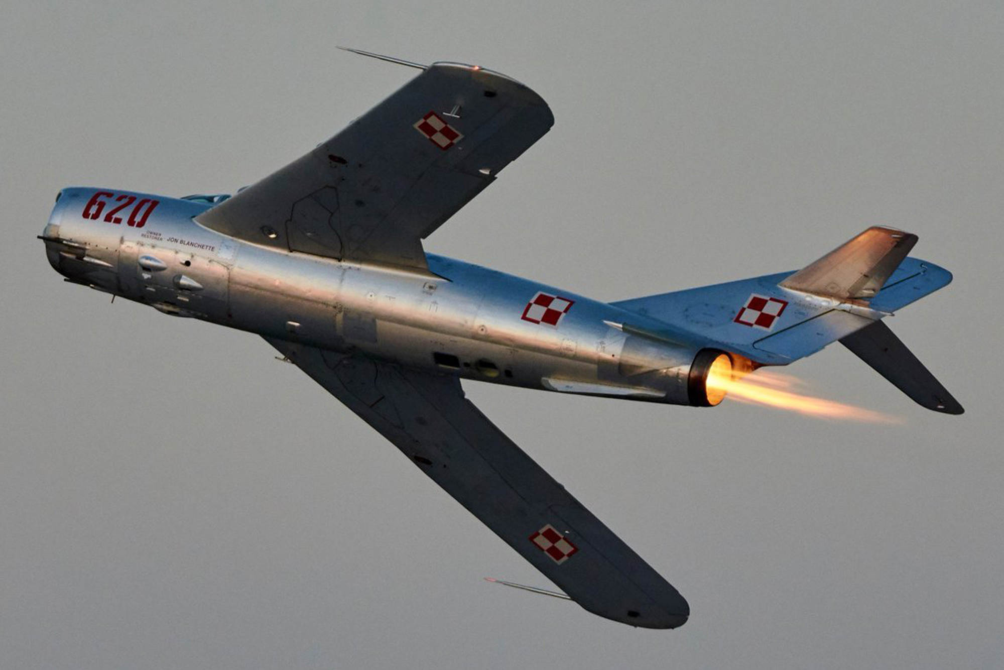 Last Airworthy MiG-17PF Is Up For Sale   Flying