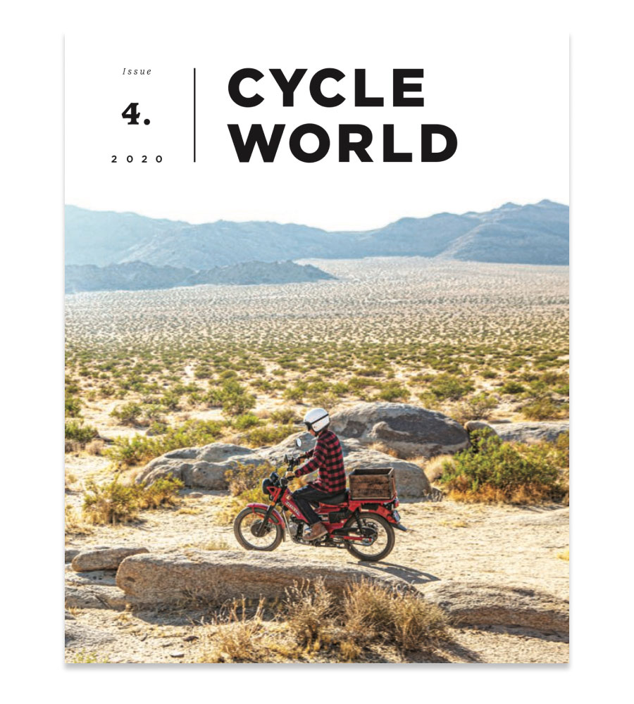 Cycle World Issue 4 cover