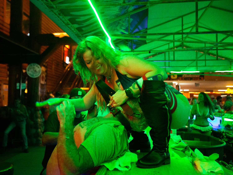 Dirty dancing at Sturgis 2020