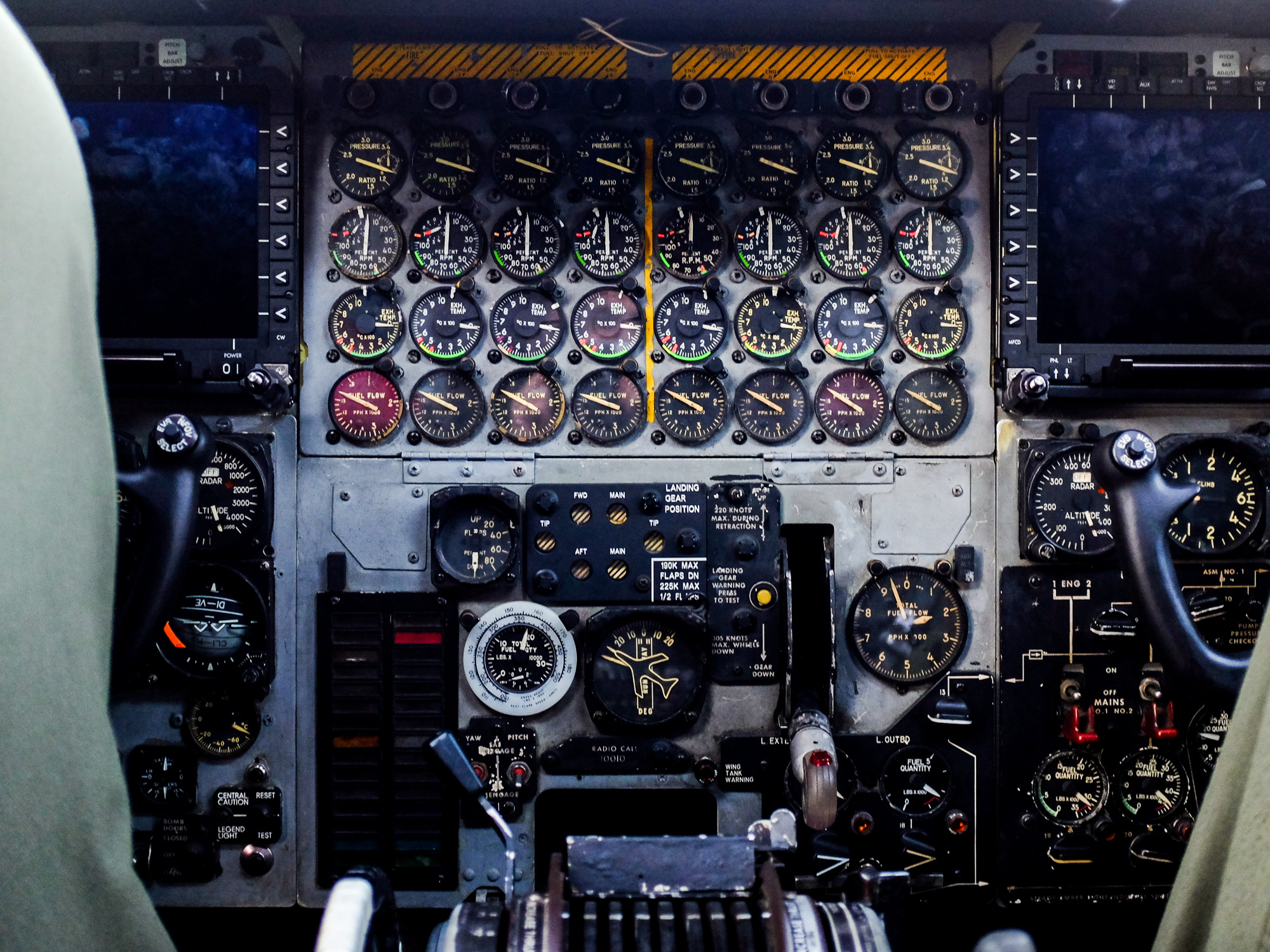 Gallery: From hatch to dials, a closer look at a B-52 bomber