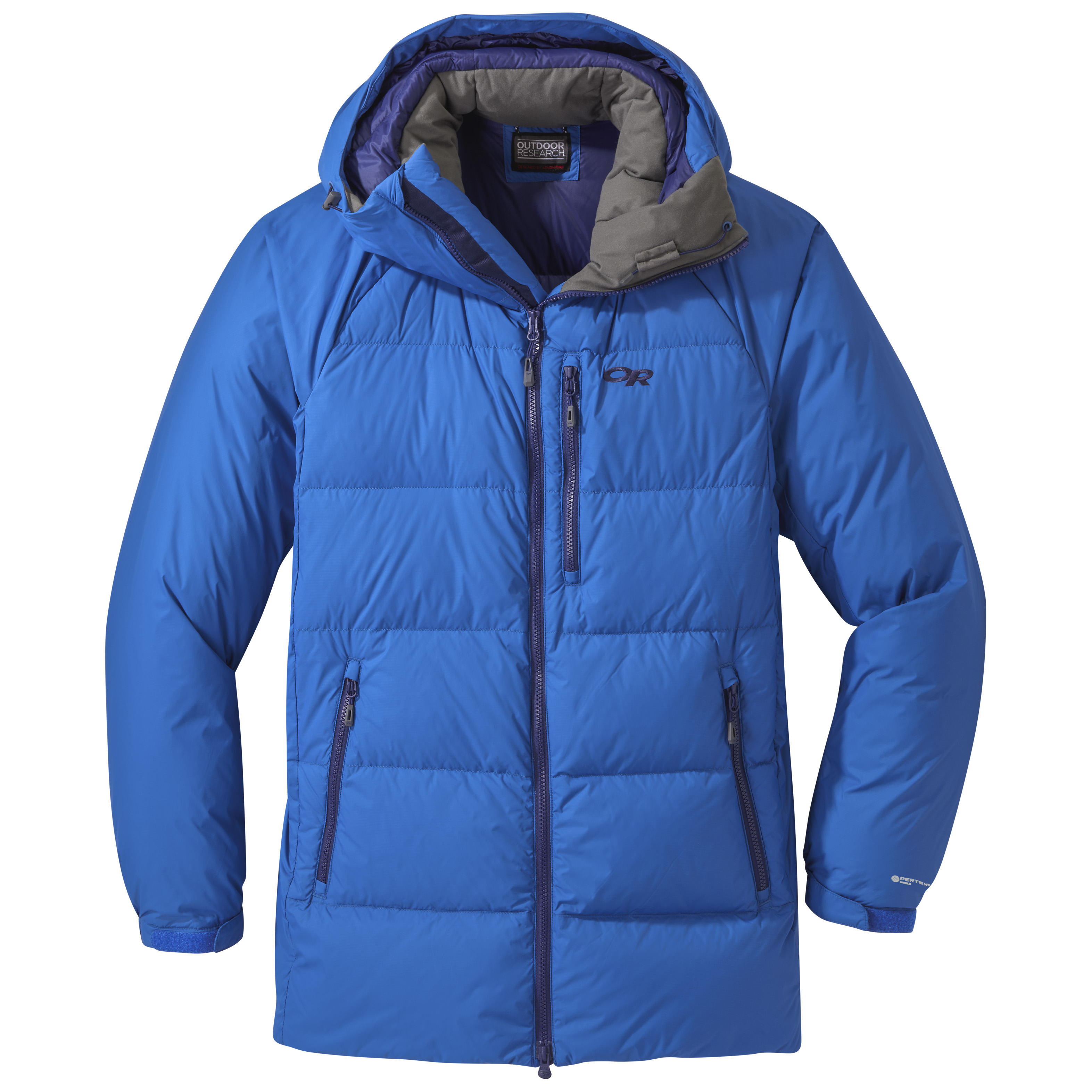 The new Outdoor Research Super Alpine Down parka is compact for travel while providing a warm winter layer when you need it.