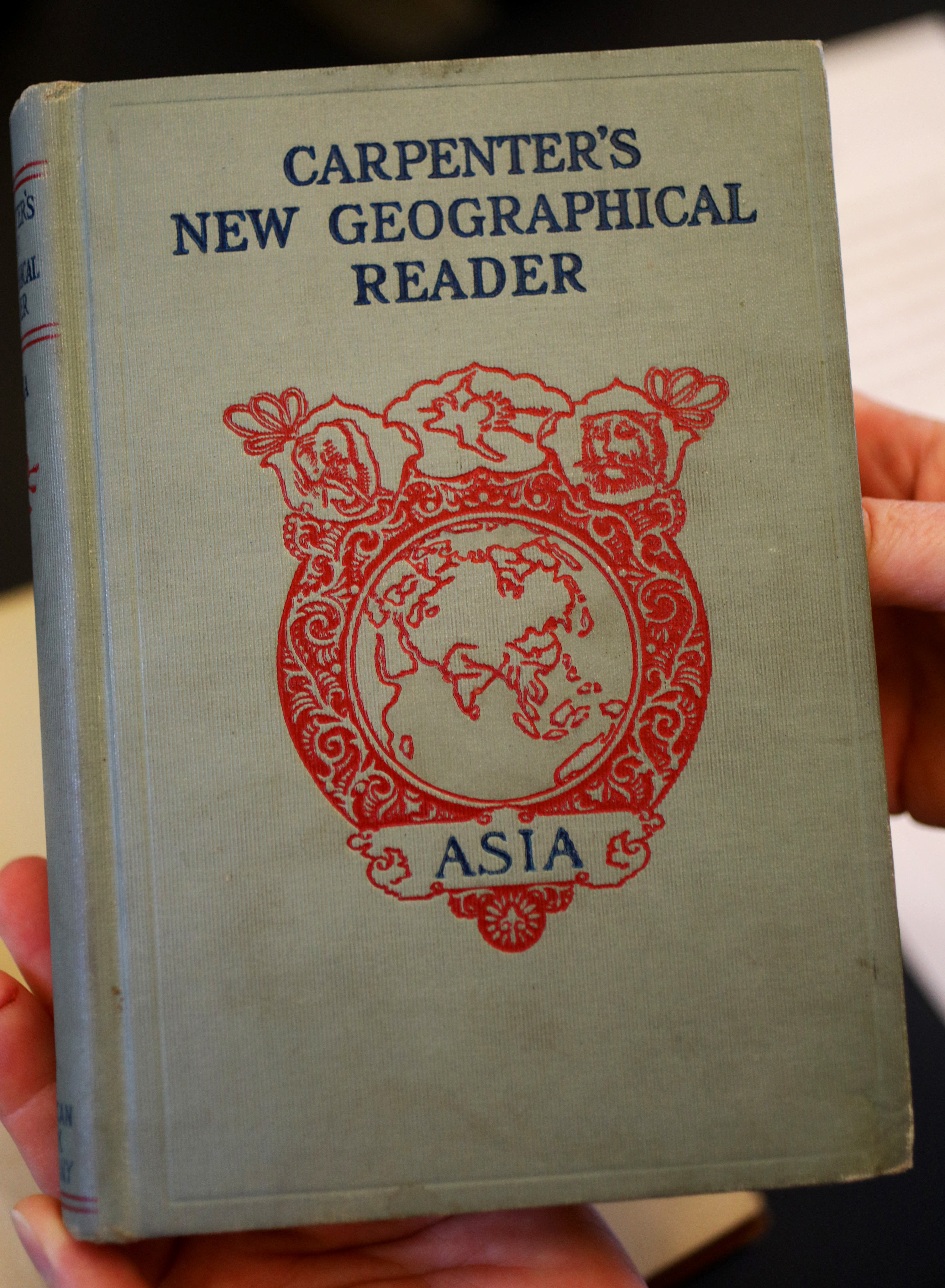 This is one of the old books that were returned to the west branch of the Somerville Public Library.