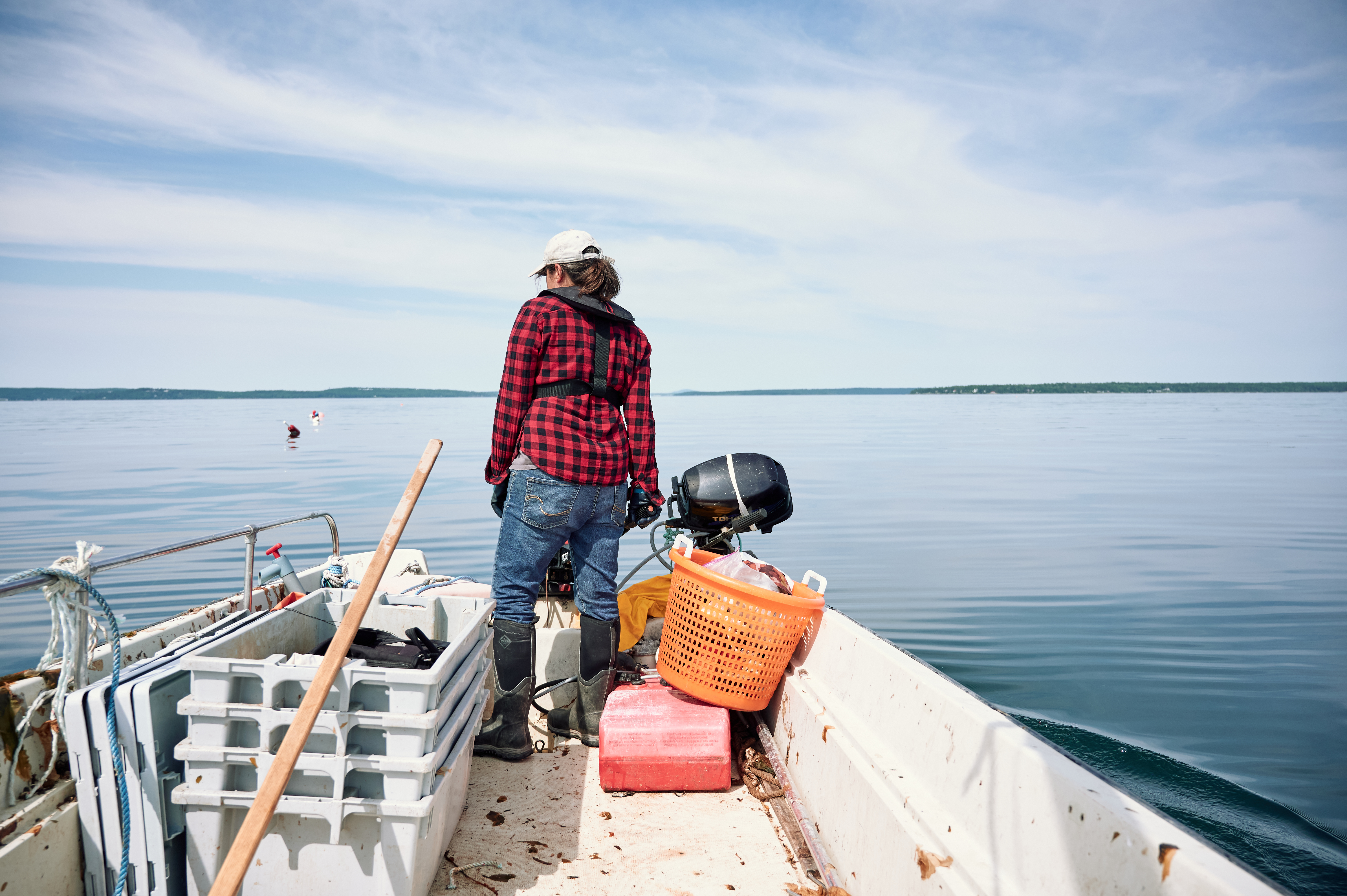 bostonglobe.com - Ellen Ruppel Shell - Are sprawling fish farms coming to swallow Maine?