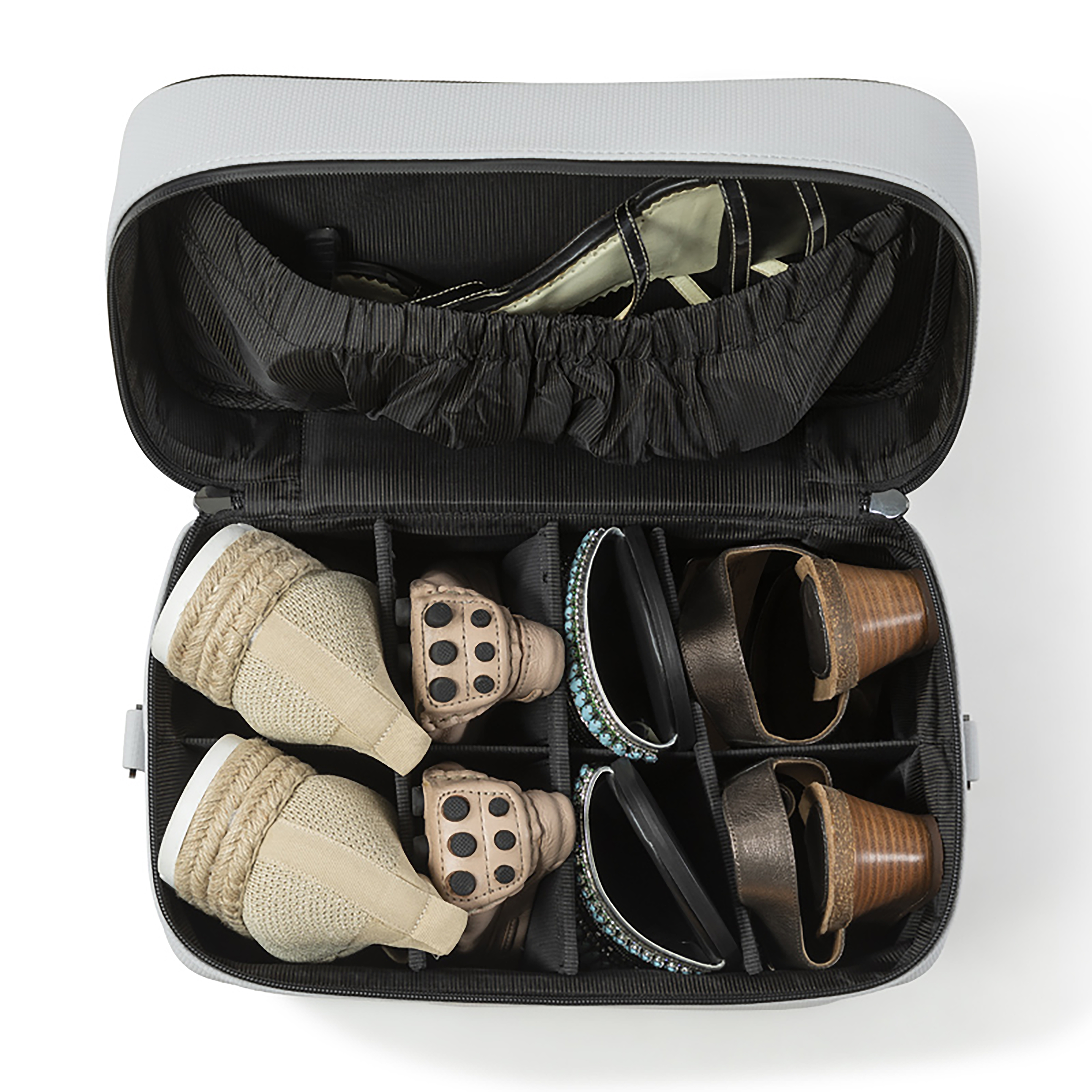 Rhode Island-based company Leigh ShoeCase uses antimicrobial technology in its travel products and face masks.