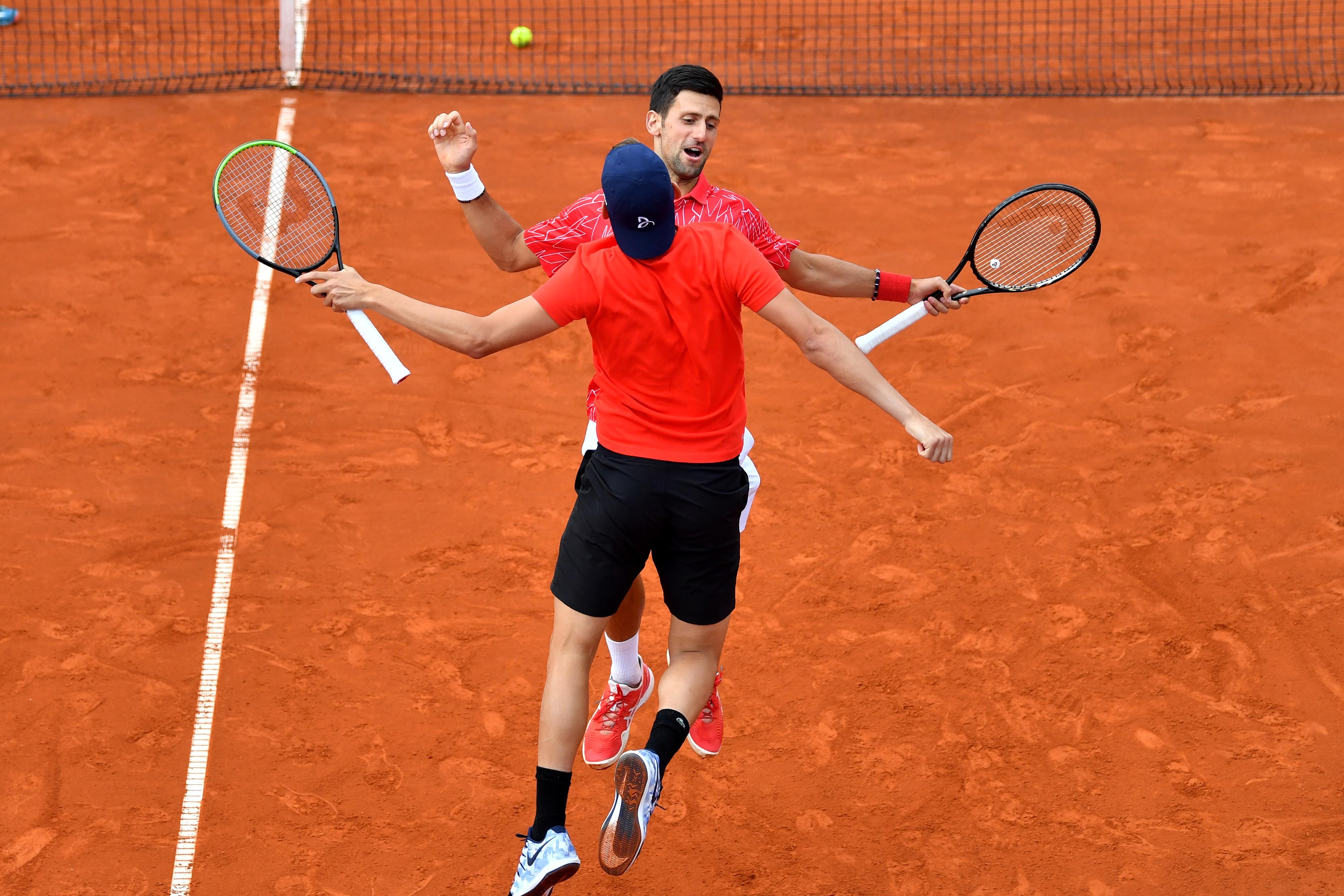 Novak Djokovic Can T Mask Joy For His Charity Tourney In Belgrade The Boston Globe