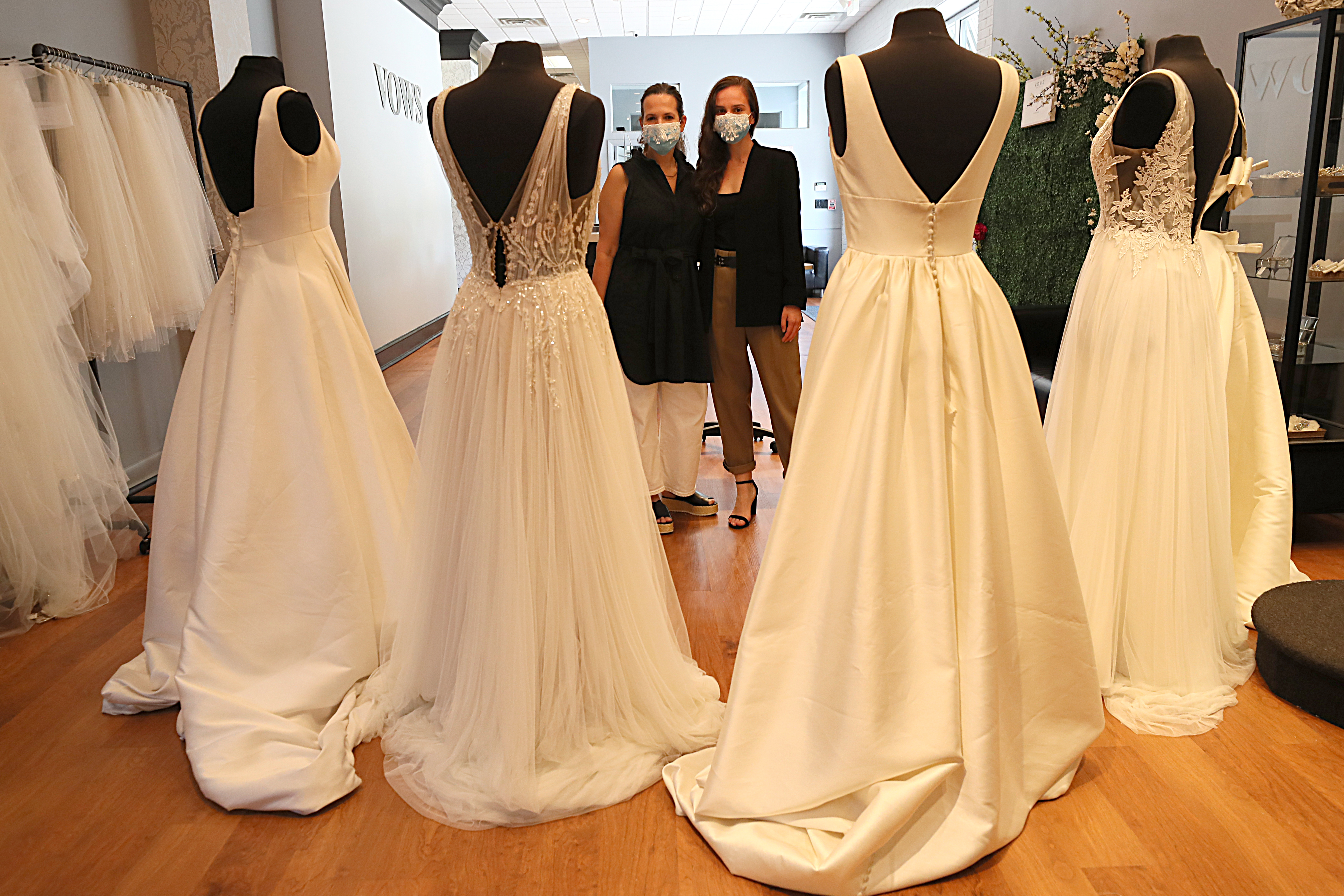 The No Fitting Room Policy Is Having Rippling Effects On Bridal Shops And Tailors Across Mass The Boston Globe