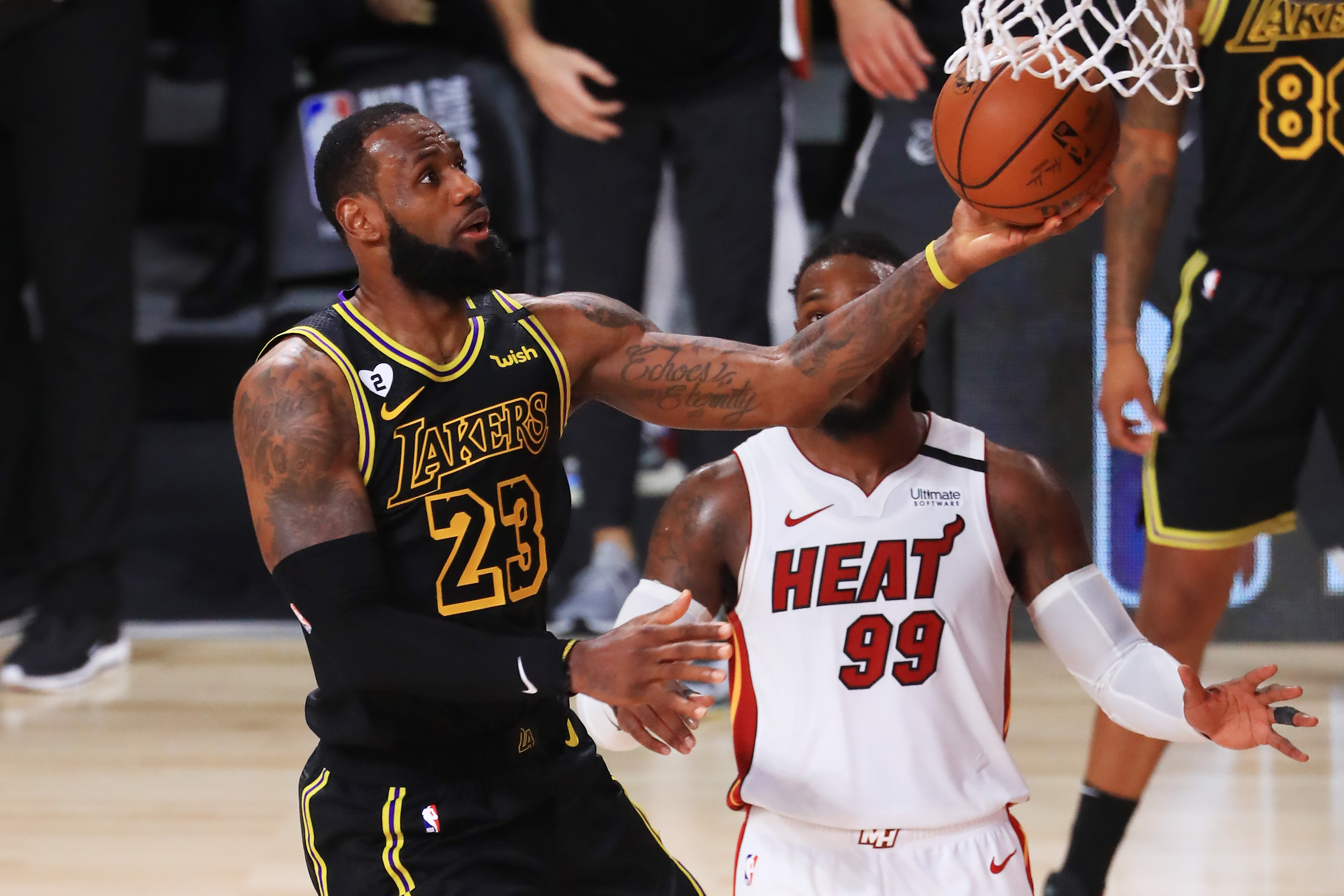LeBron James adds another record