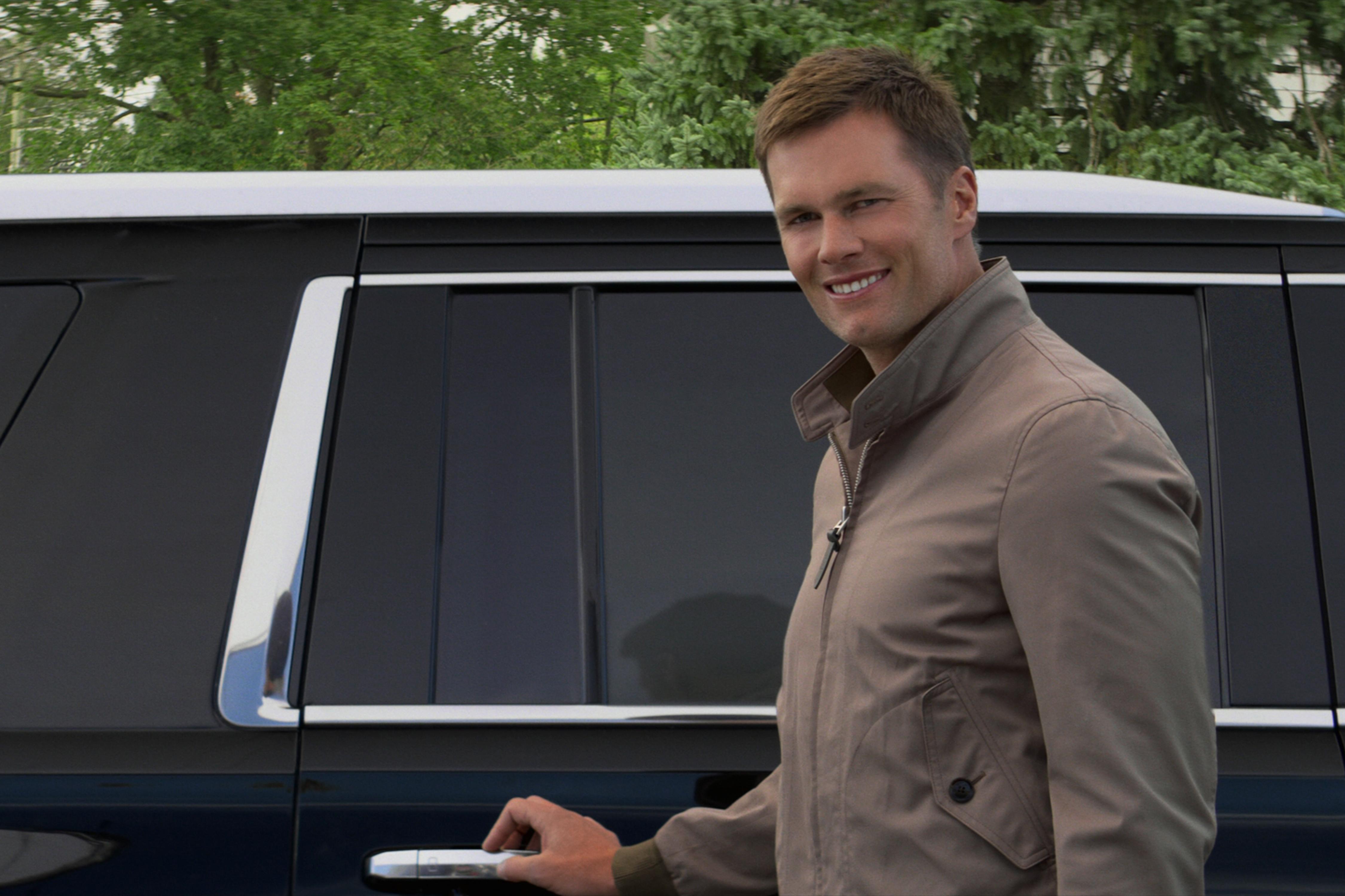 """Tom Brady apareció en el episodio de Netflix. """"Viviendo contigo."""""""