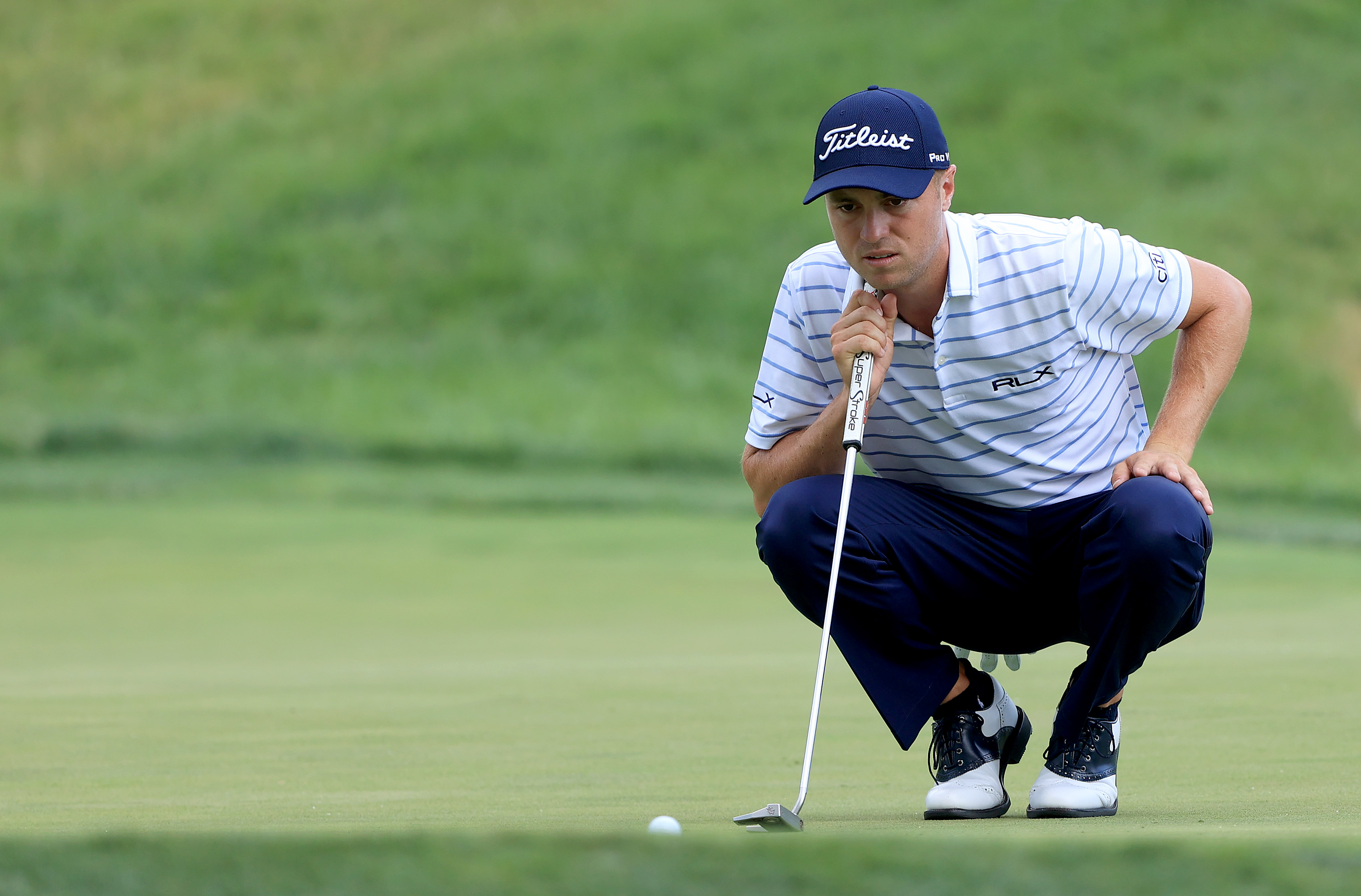 Justin Thomas Opens Up Two Shot Lead At Muirfield The Boston Globe