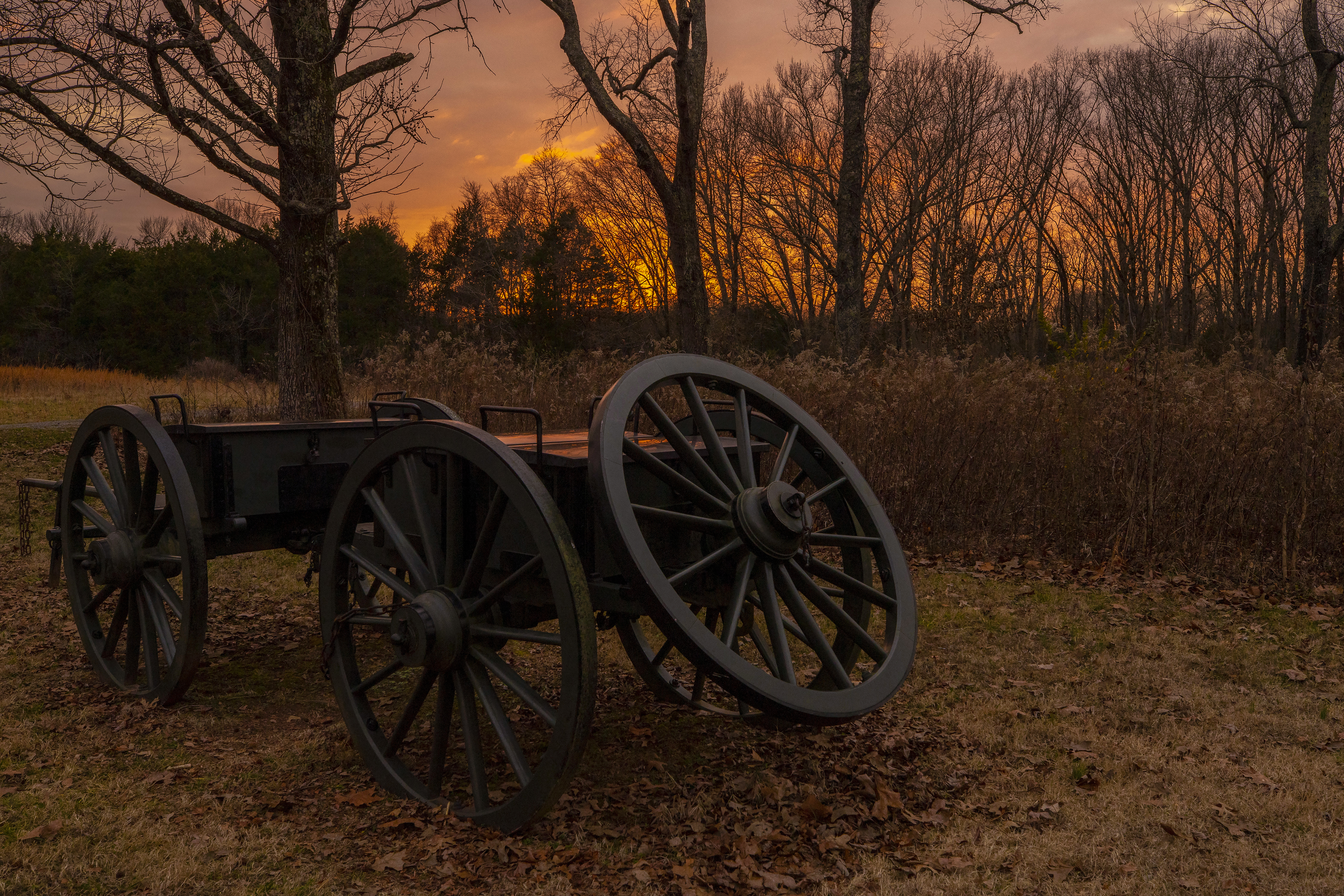 Jennifer Rasmussen won the historical and cultural category with this photo of the Stones River National Historic Battlefield in Tennessee.