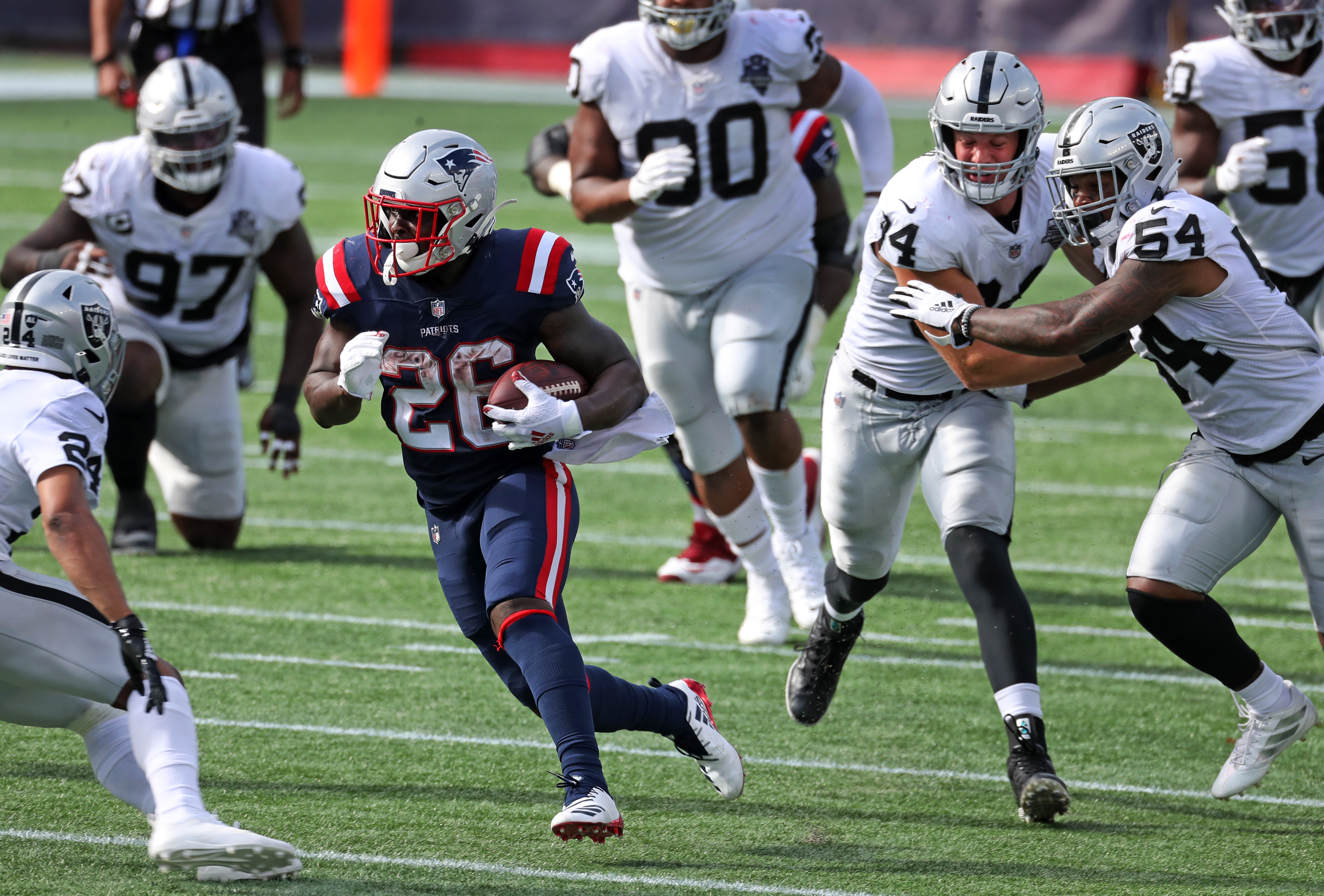 Patriots Sony Michel Shaq Mason Derek Rivers Placed On Covid Ir But Sunday Game Vs Broncos Still On The Boston Globe