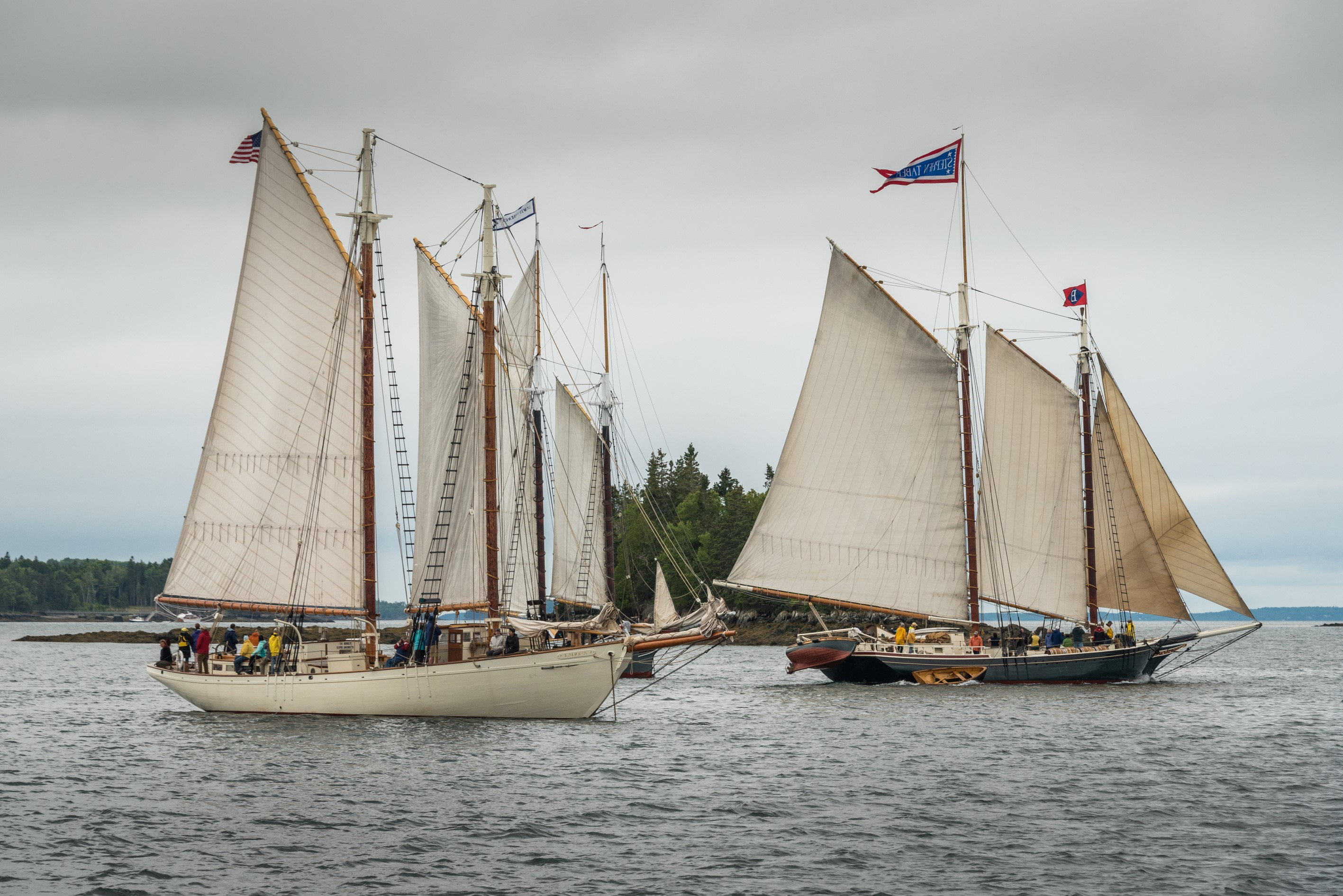 Sailing schooners, sales on ski passes, and safe water anywhere ...