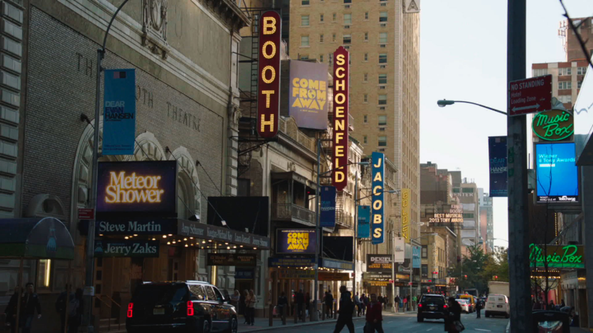 """New York's Theater Row, as in """"On Broadway."""""""