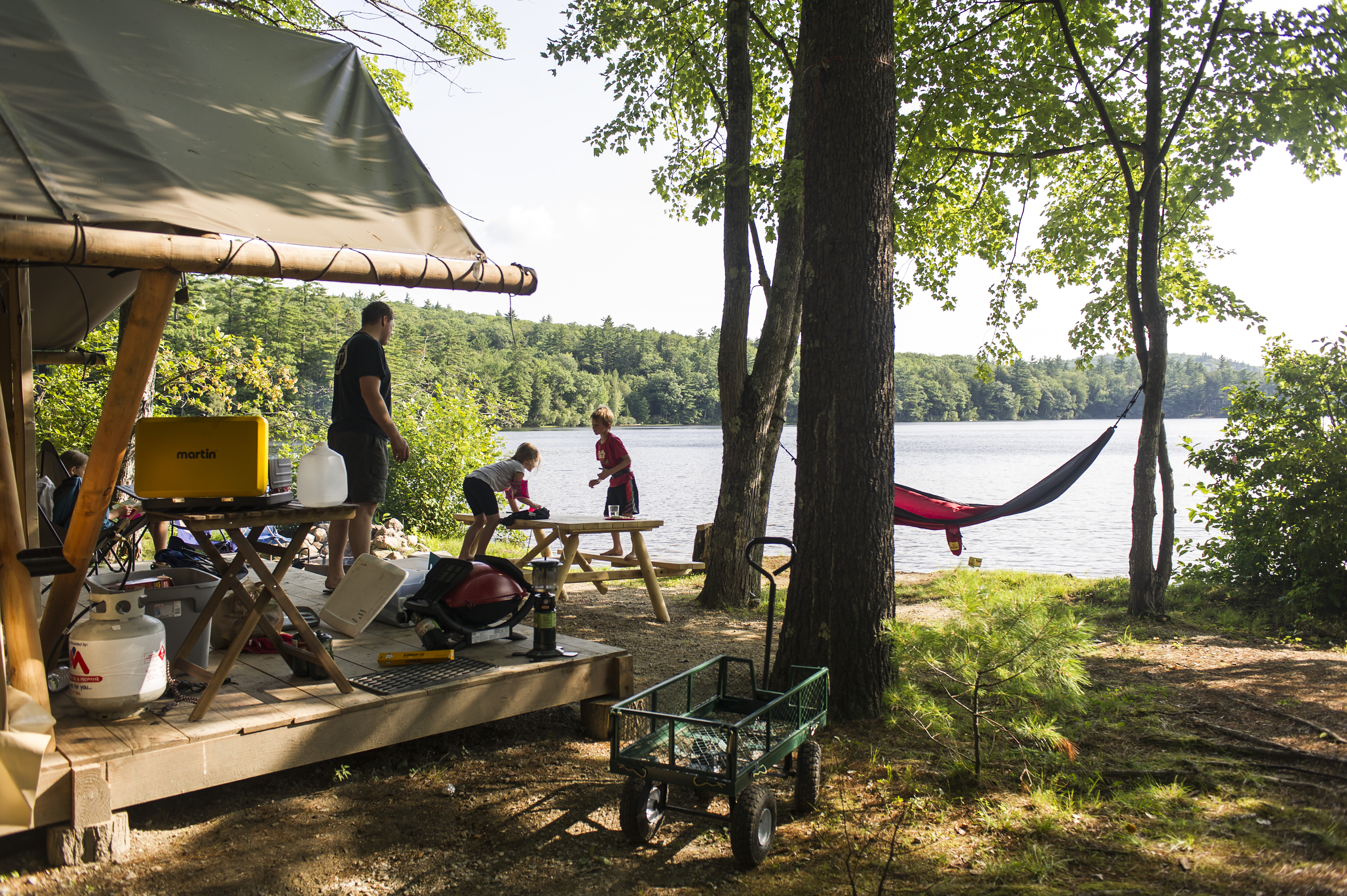A survey of 2,000 campgrounds by campgroundviews.com found that advance bookings were up 50% from the average figures before the pandemic.