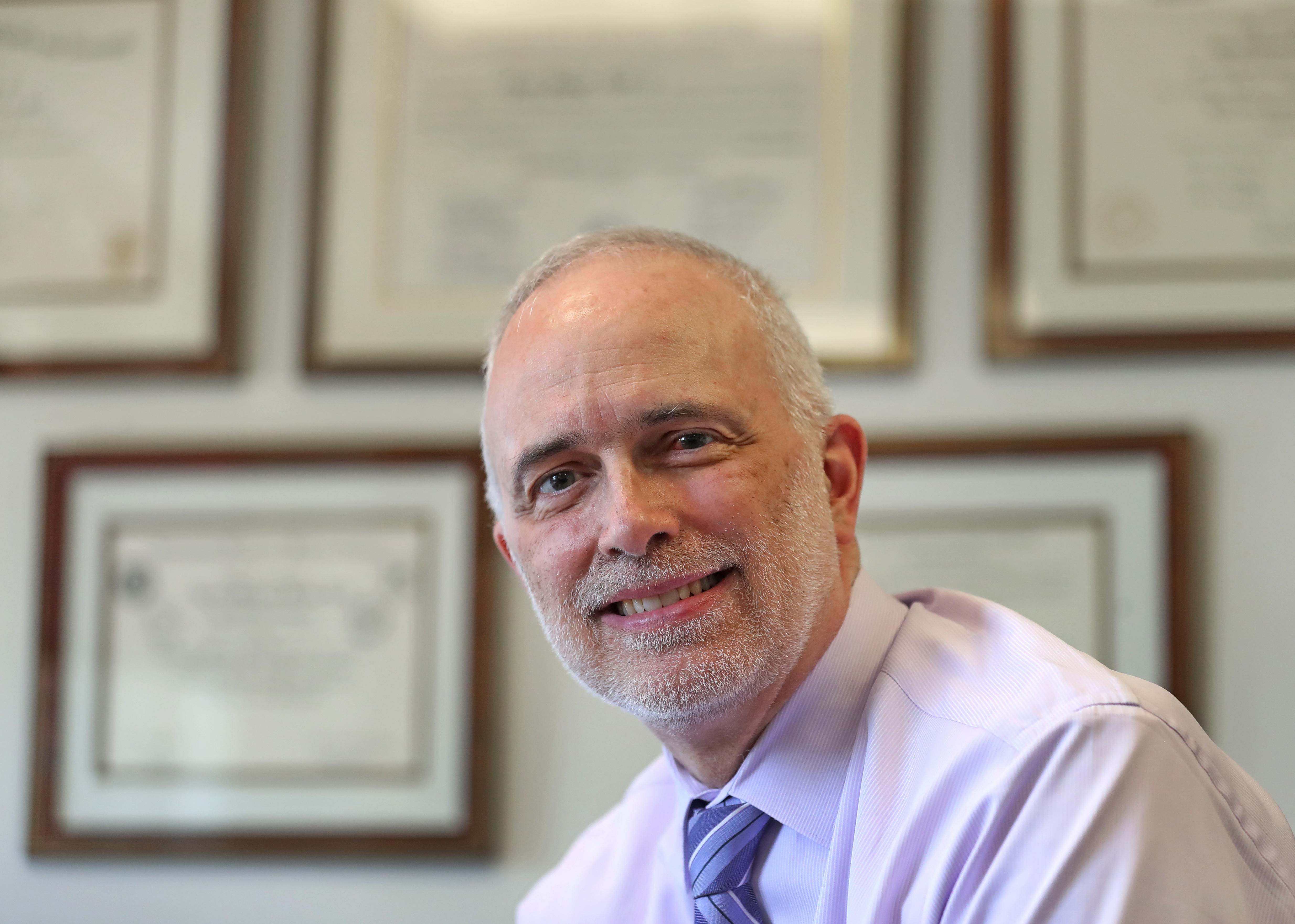 Dr. Henry T. Sachs III, president of Bradley Hospital
