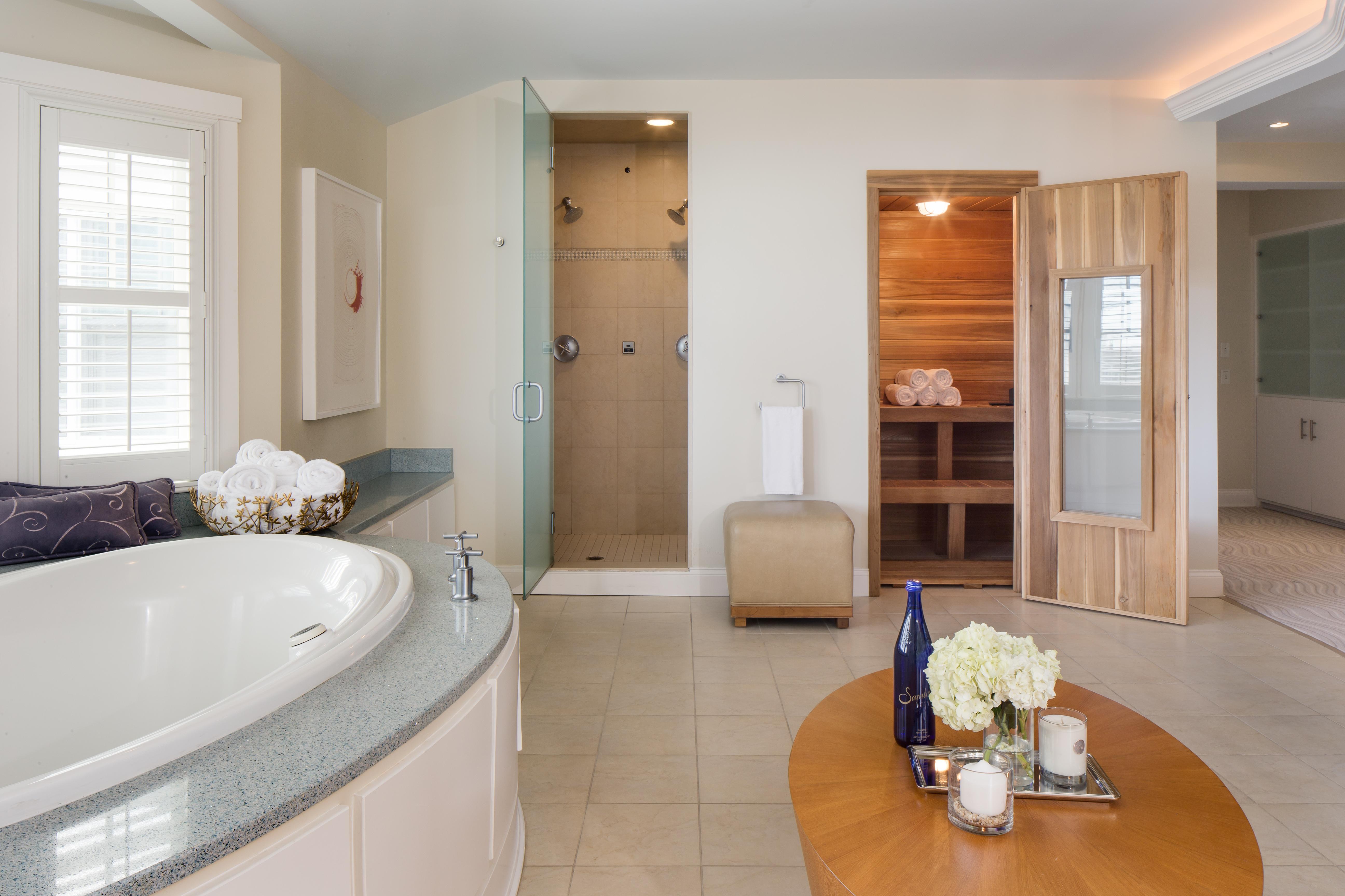 Chatham Bars Inn spa suite.