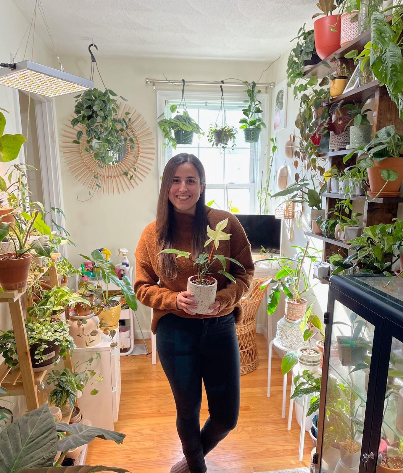 The Real Houseplants of Boston founder Carol Resende