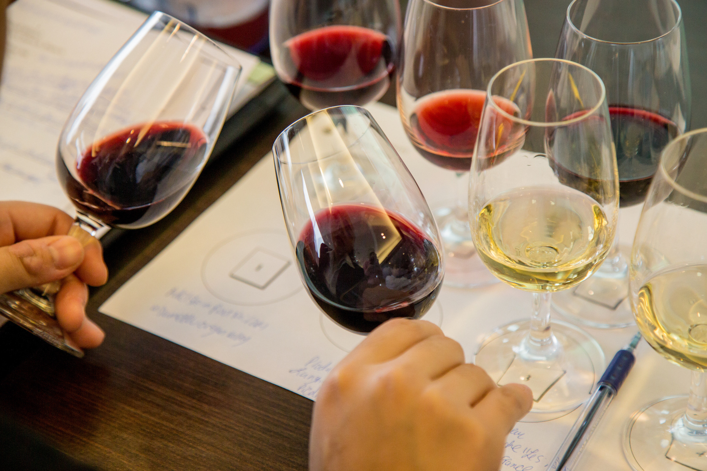 Students can take sommelier classes at Johnson & Wales University.