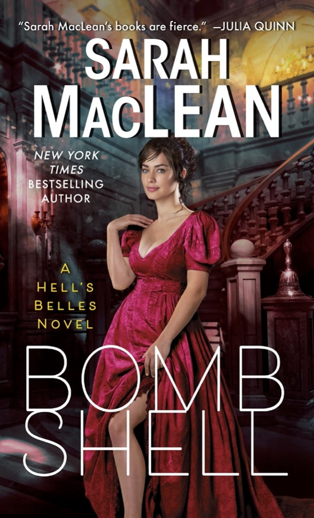 """22maclean - """"Bomb,"""" the first in a new series from romance author Sarah MacLean.  (Avon)"""