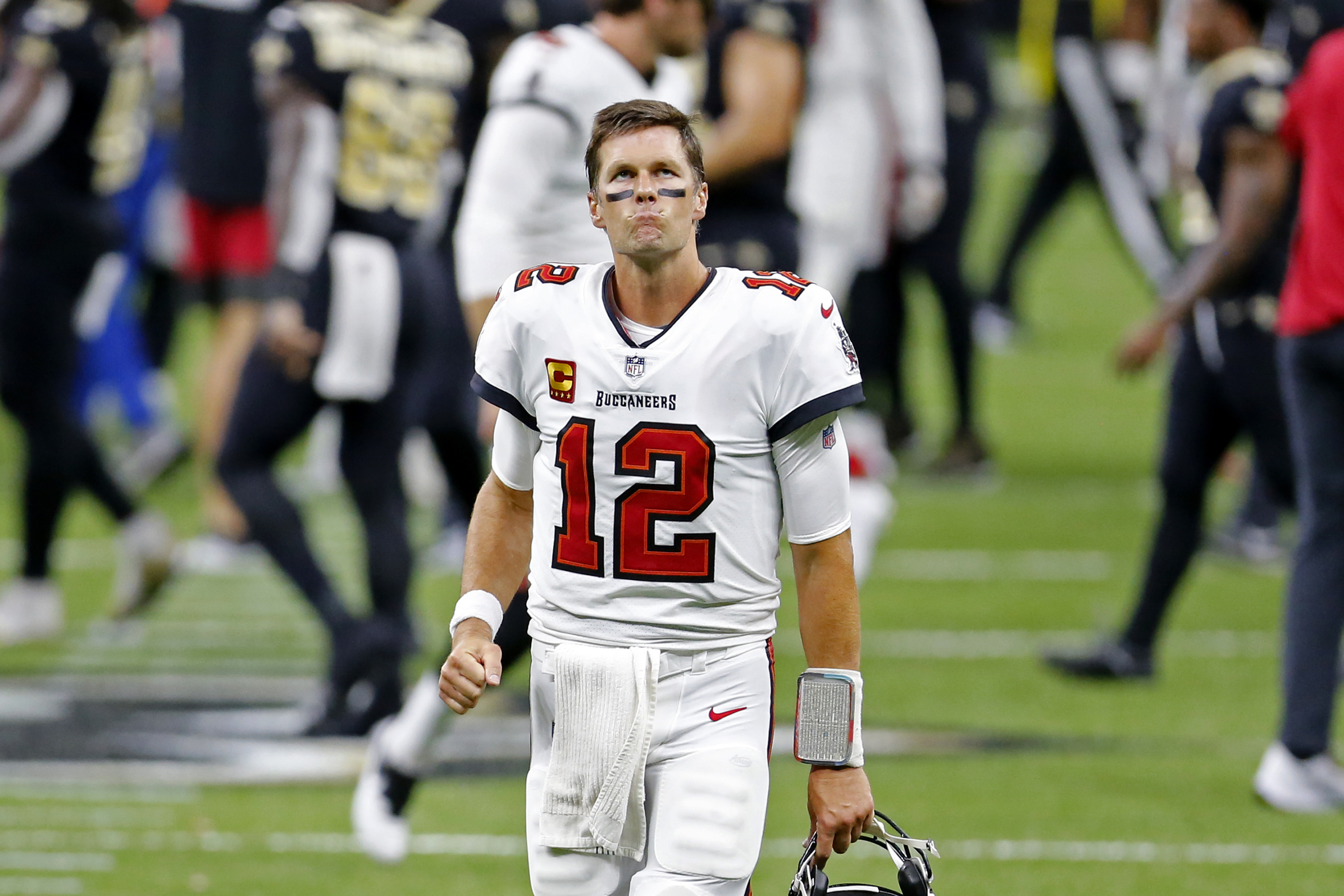 Buccaneers Lose To Saints In First Game With Tom Brady As Quarterback The Boston Globe