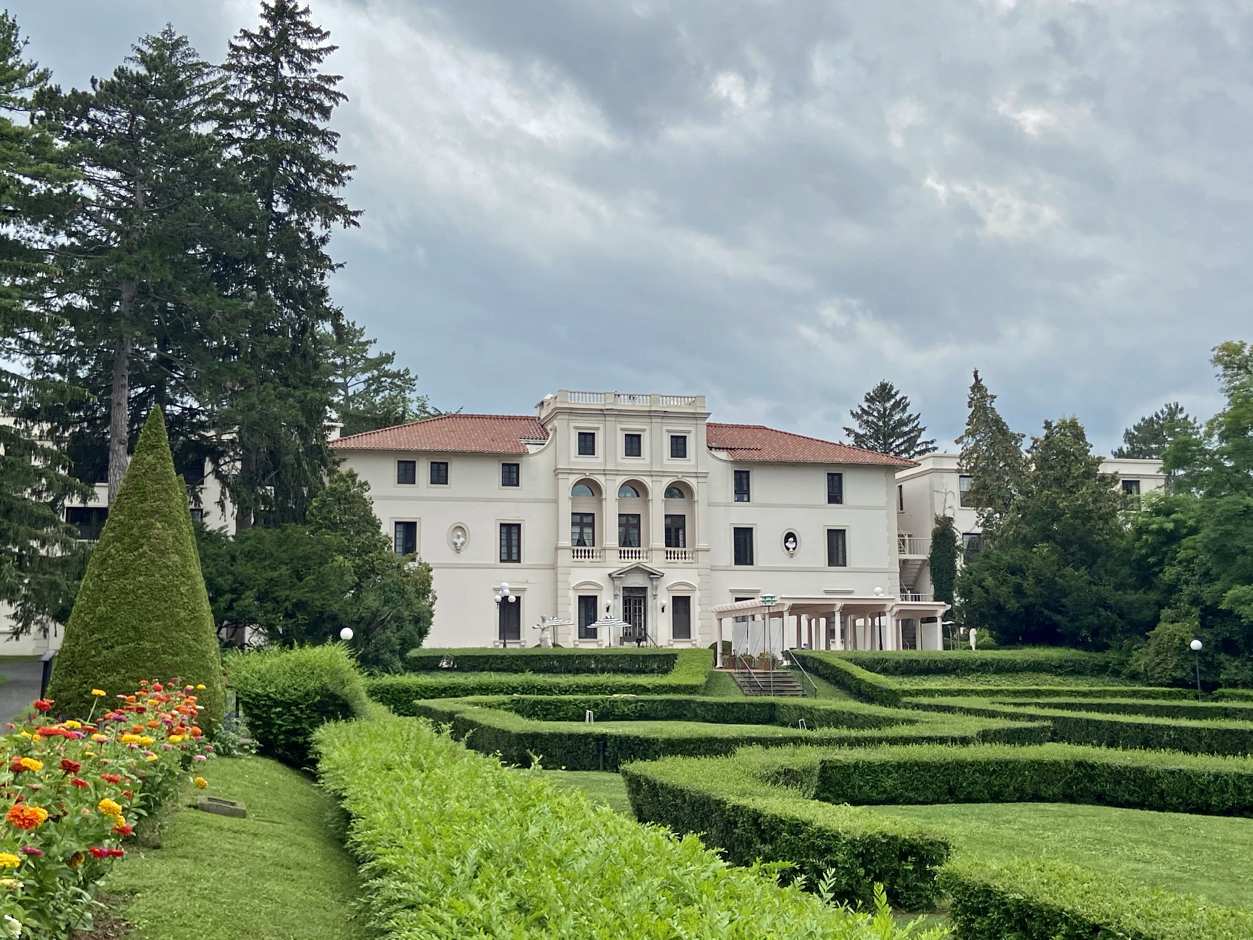 Looking for someplace interesting to stay? Consider Geneva on the Lake, a monastery-turned-inn, in Geneva, N.Y.