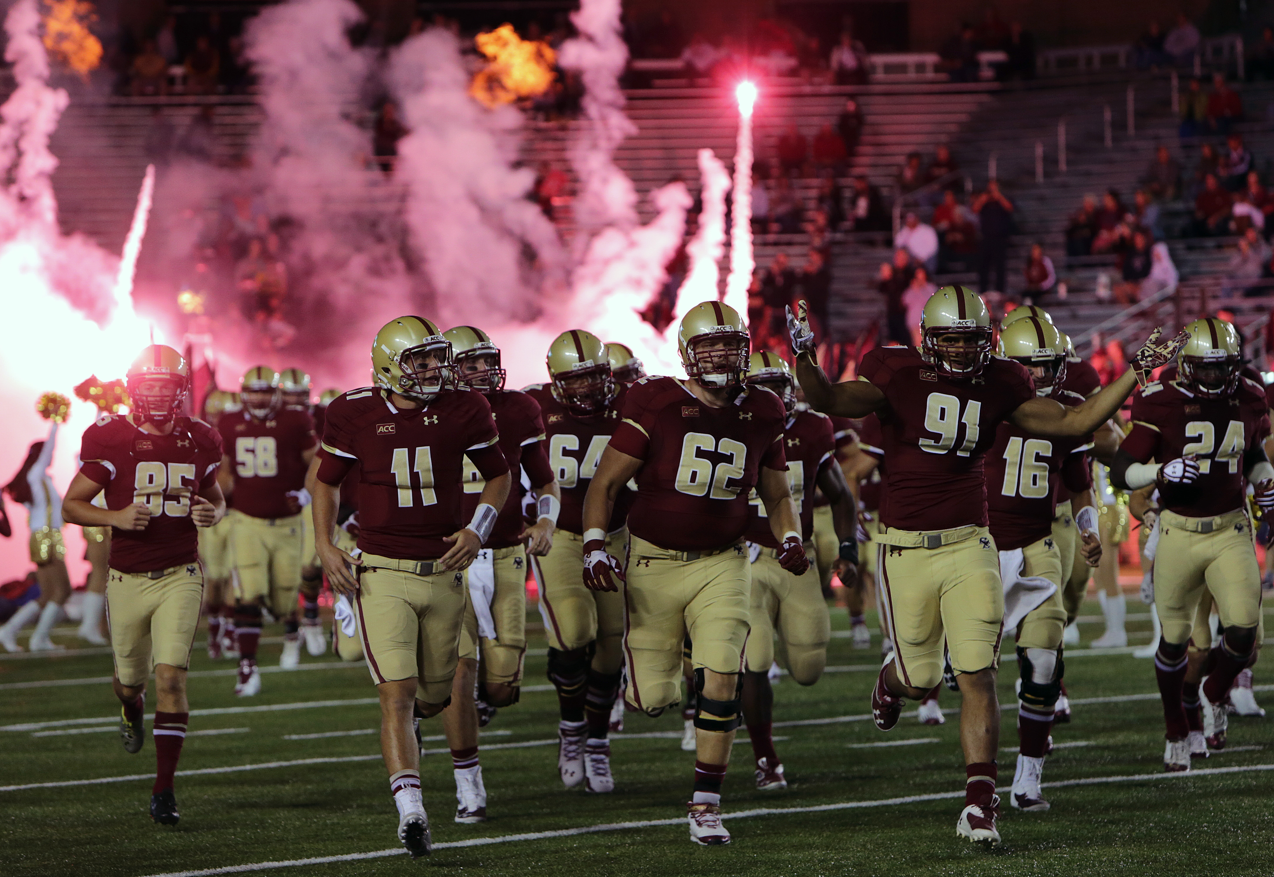 Boston College S Football Schedule Has Been Finalized The Boston Globe