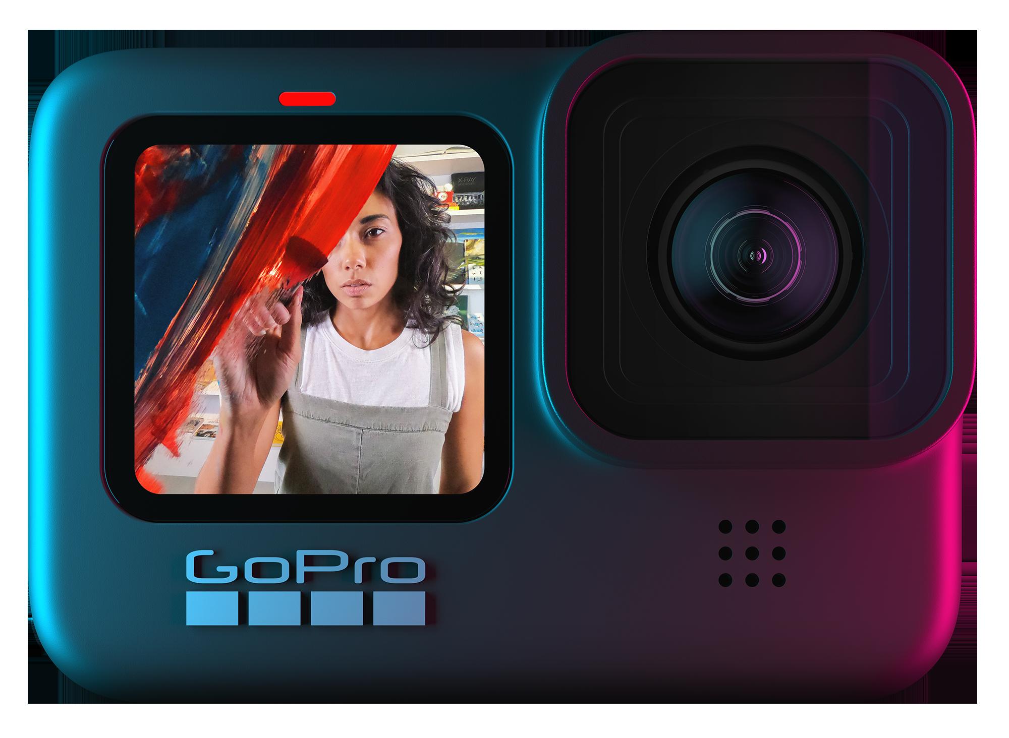 The HERO9 Black model from GoPro.