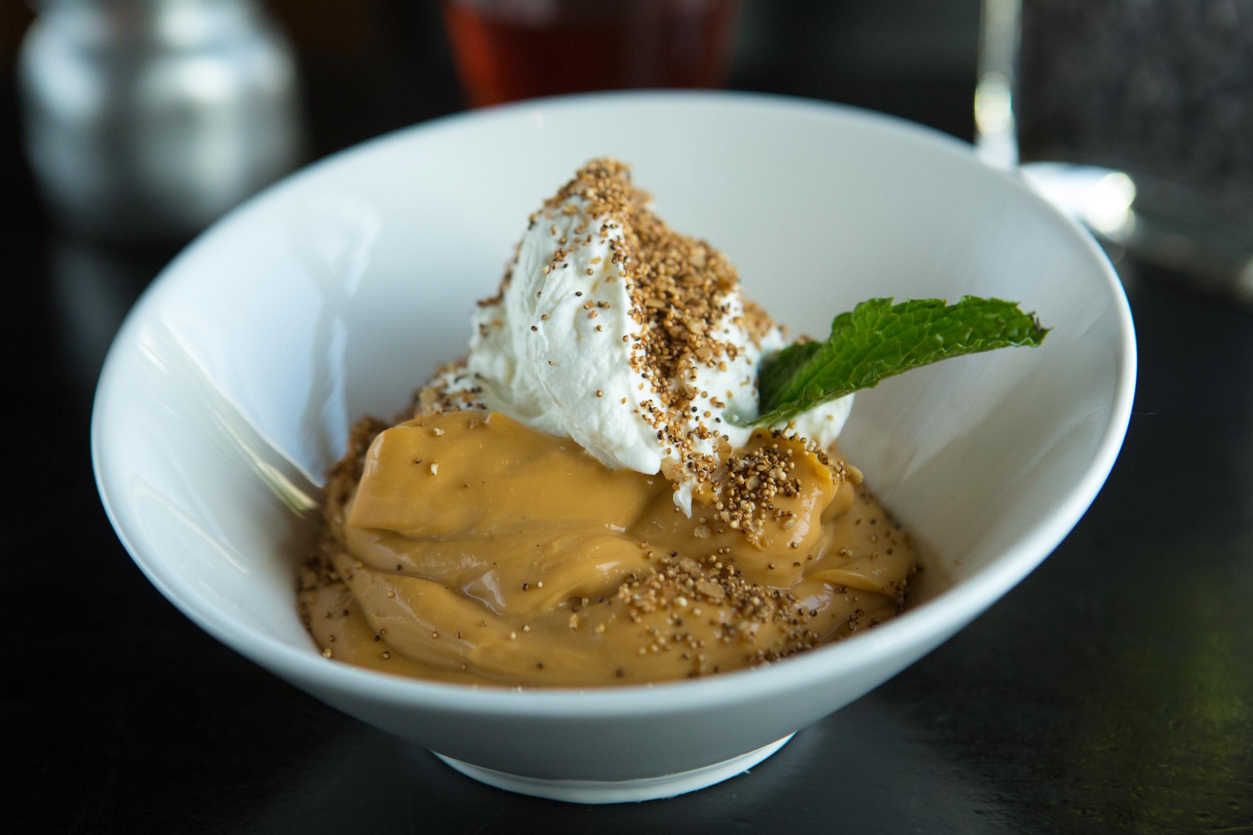 Butterscotch pudding at Moonshine 152.