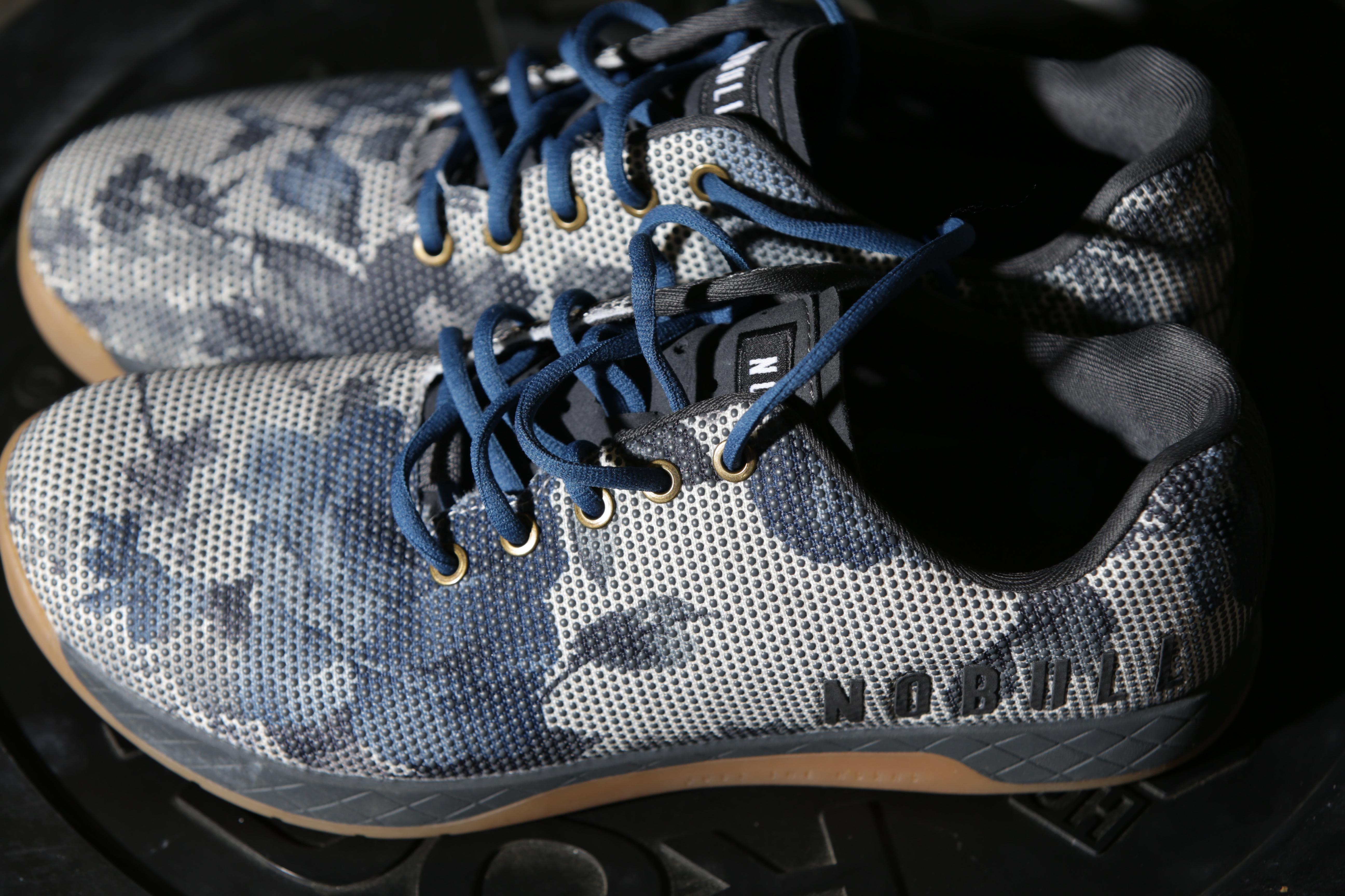A pair of Nobull sneakers.