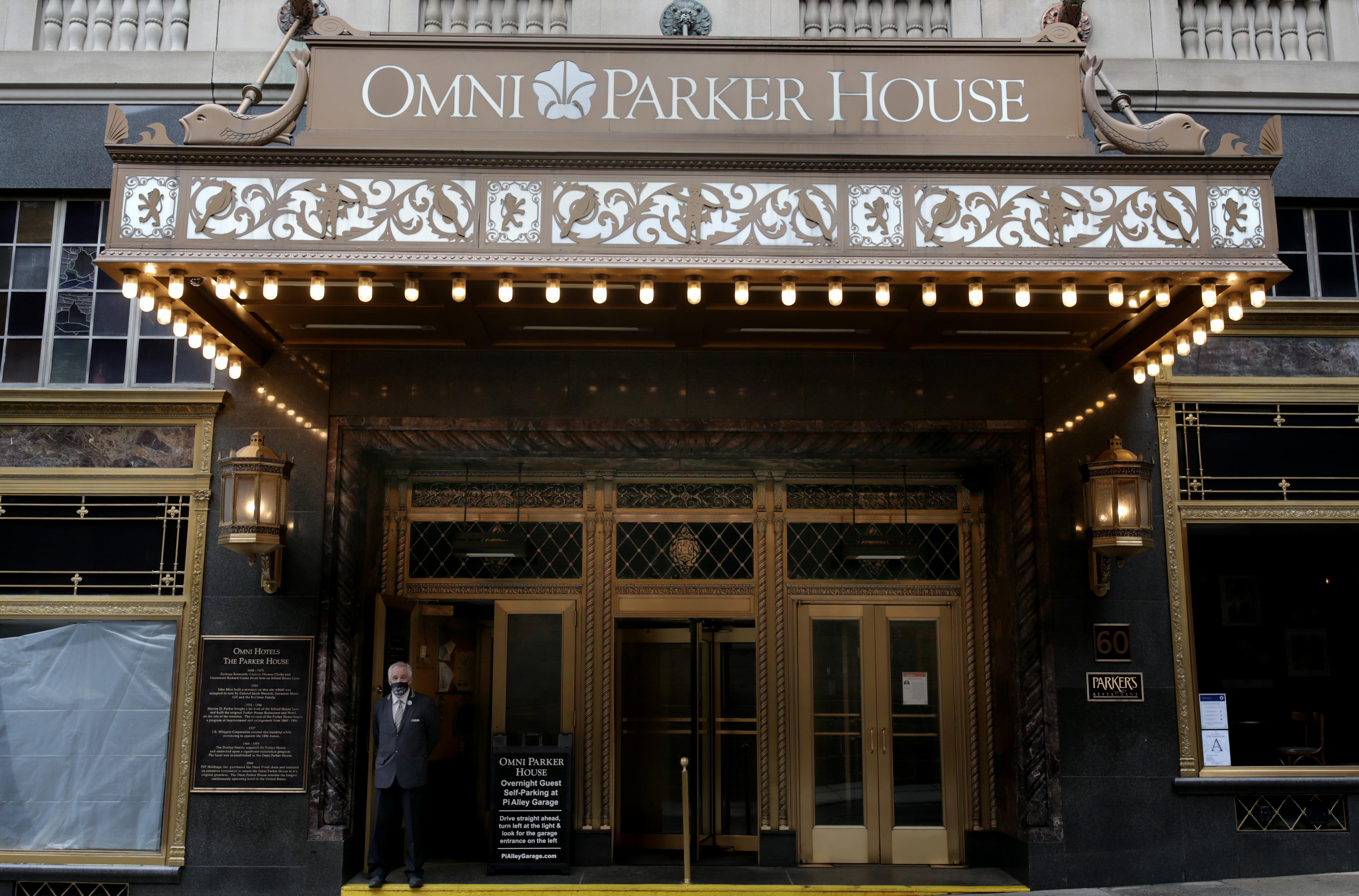The Boston Omni Parker House.