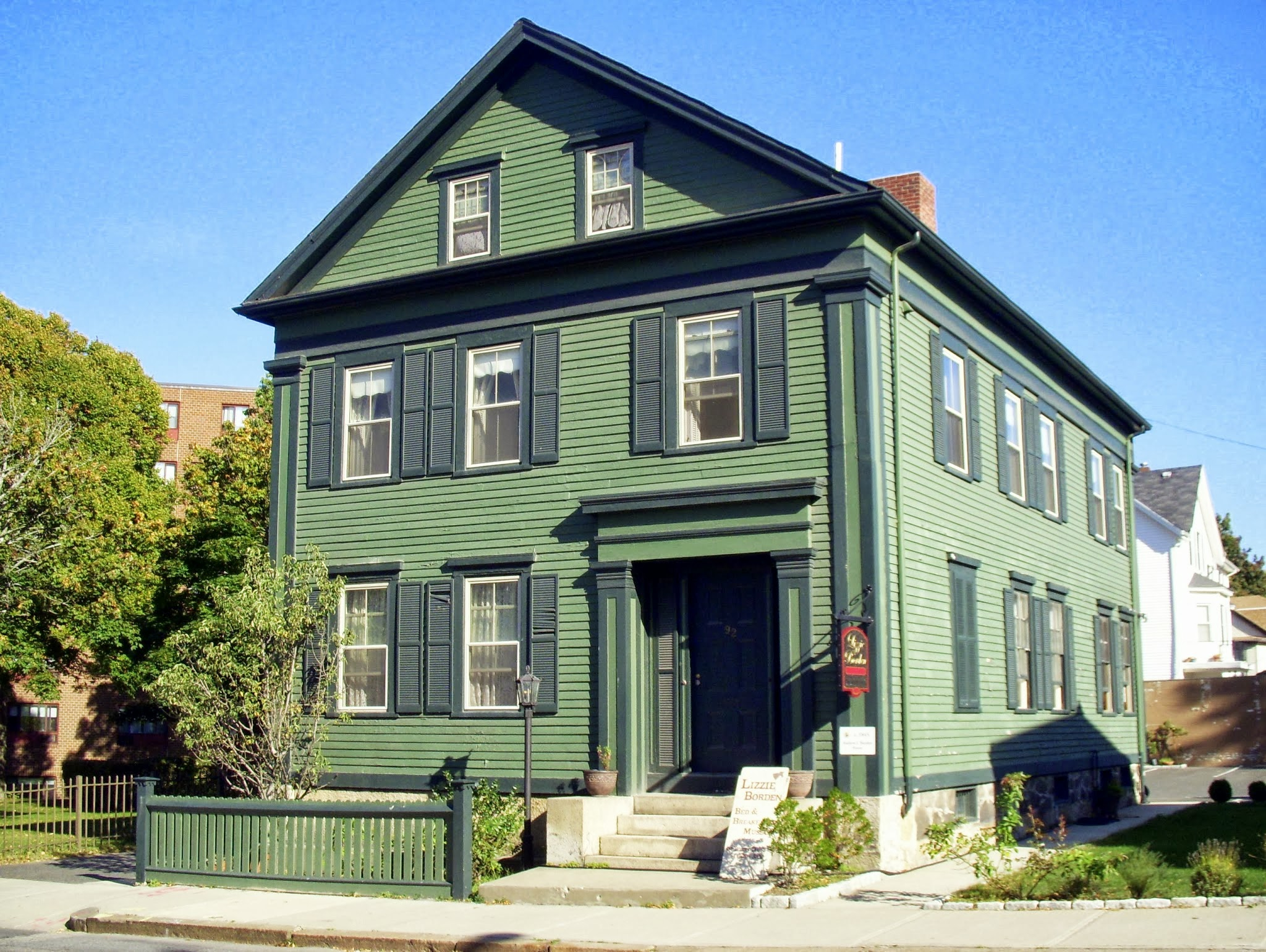 For 2 Million You Can Own The House Where Lizzie Borden S Family Was Murdered The Boston Globe