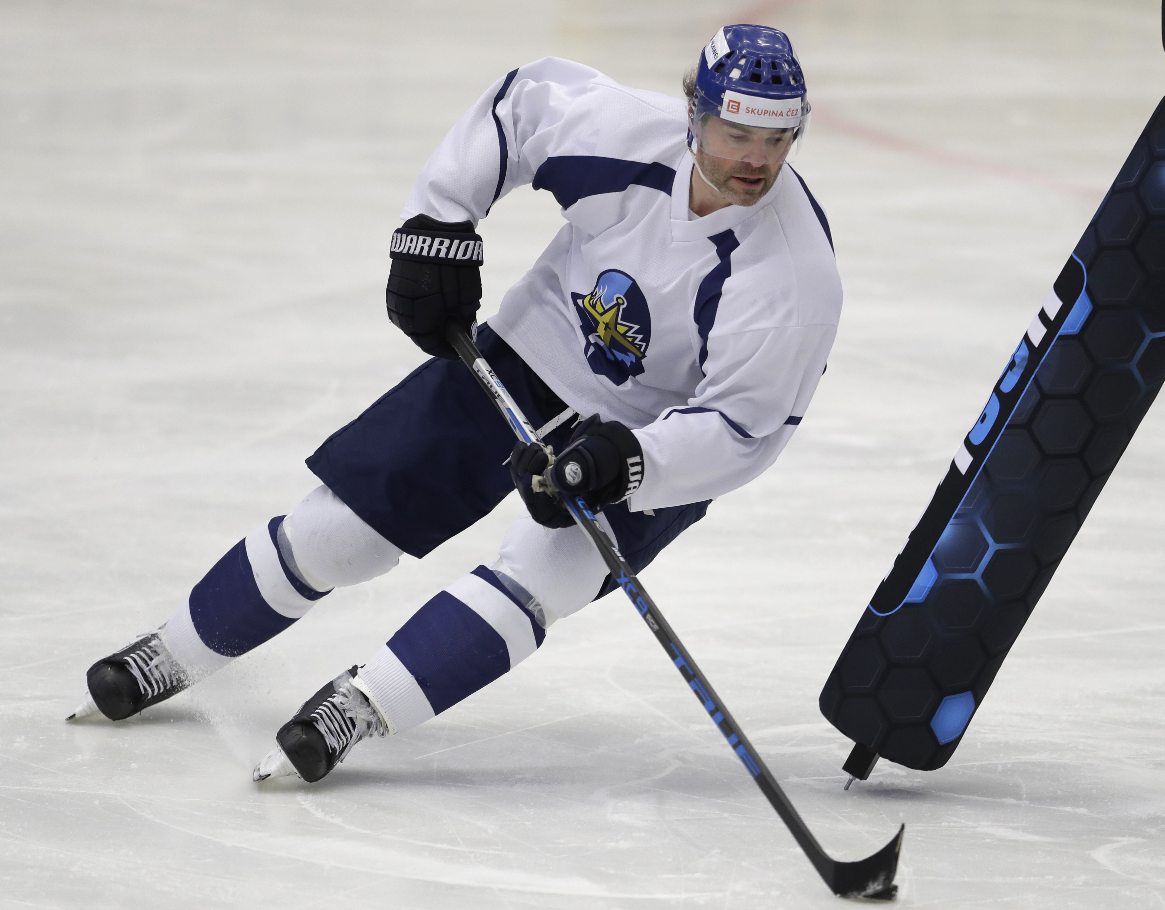 Jaromir Jagr is still playing in the Czech Republic at the age of 50.